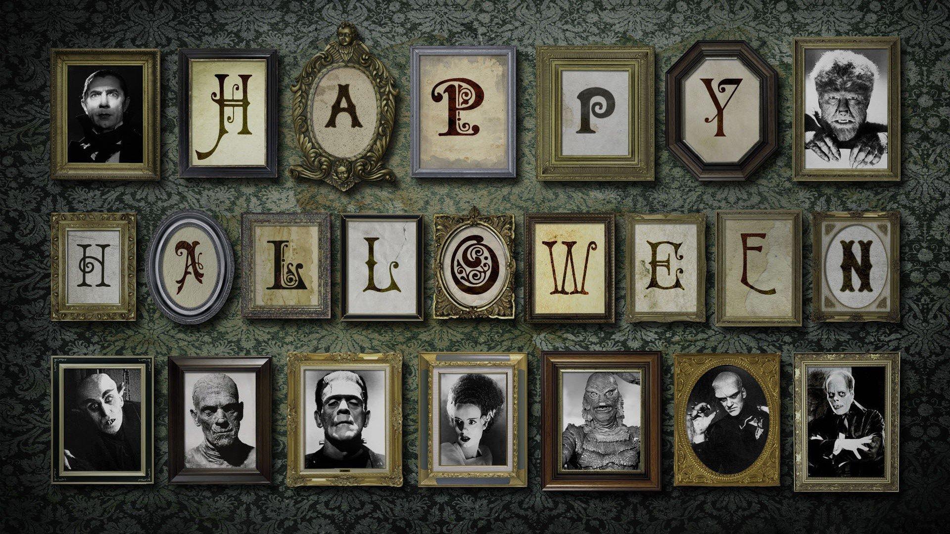 Fondo de pantalla de Monstruos de halloween Imágenes
