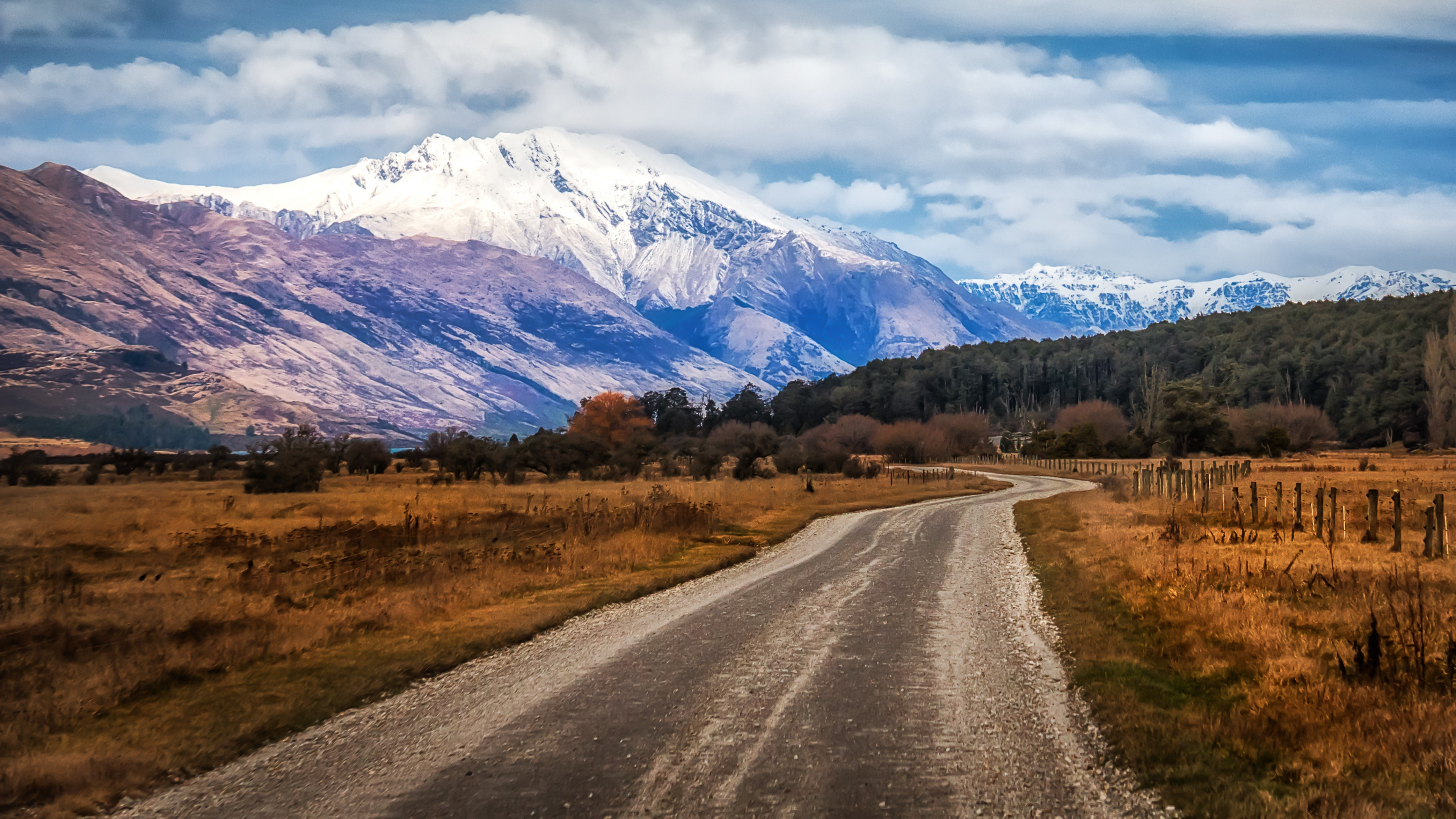 Fondos de pantalla Montaña Glenorchy en Nueva Zelanda