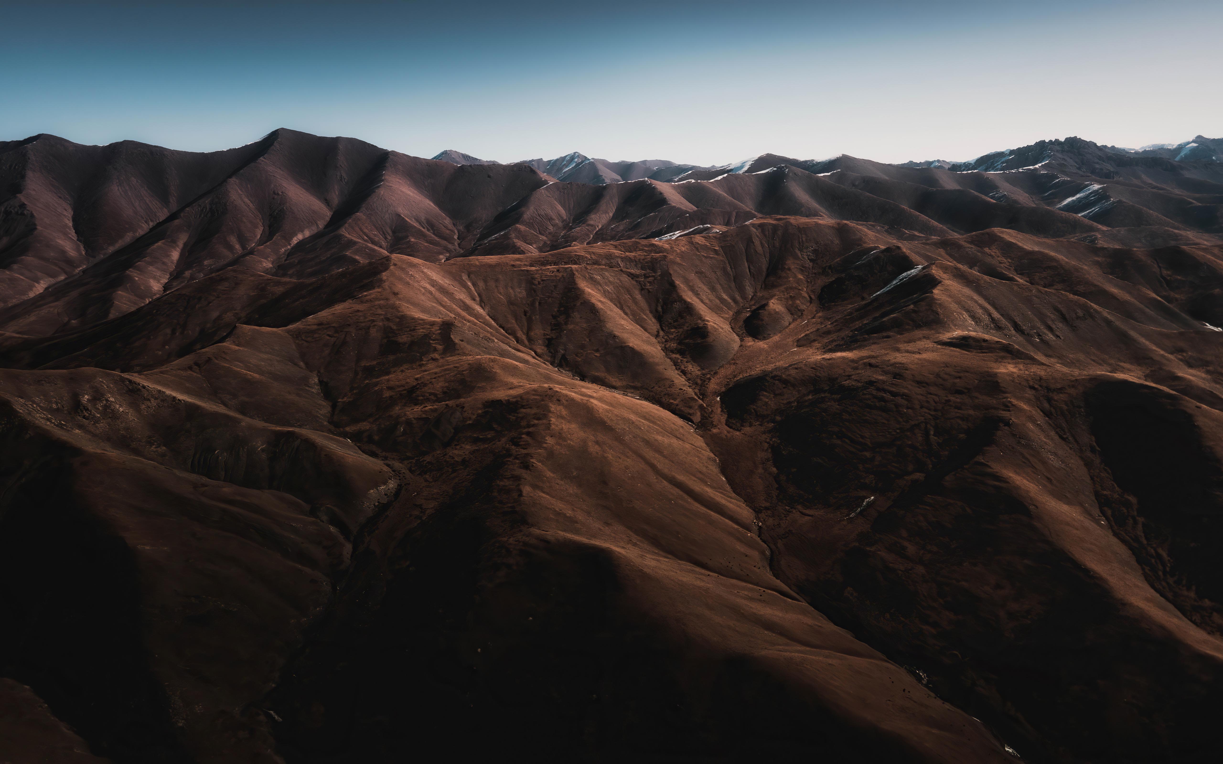 Fondos de pantalla Montañas agrupadas