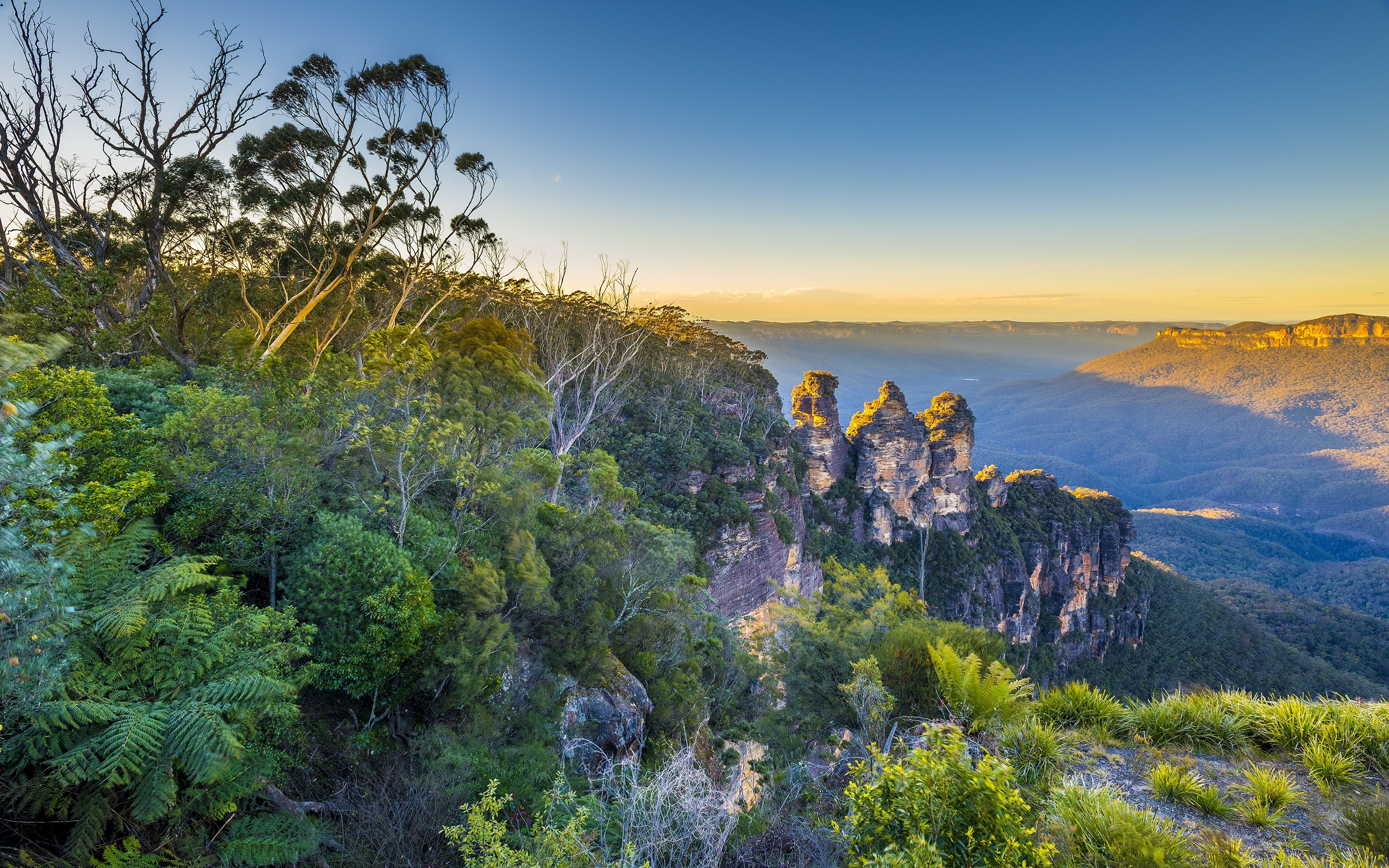 Wallpaper Blue mountains