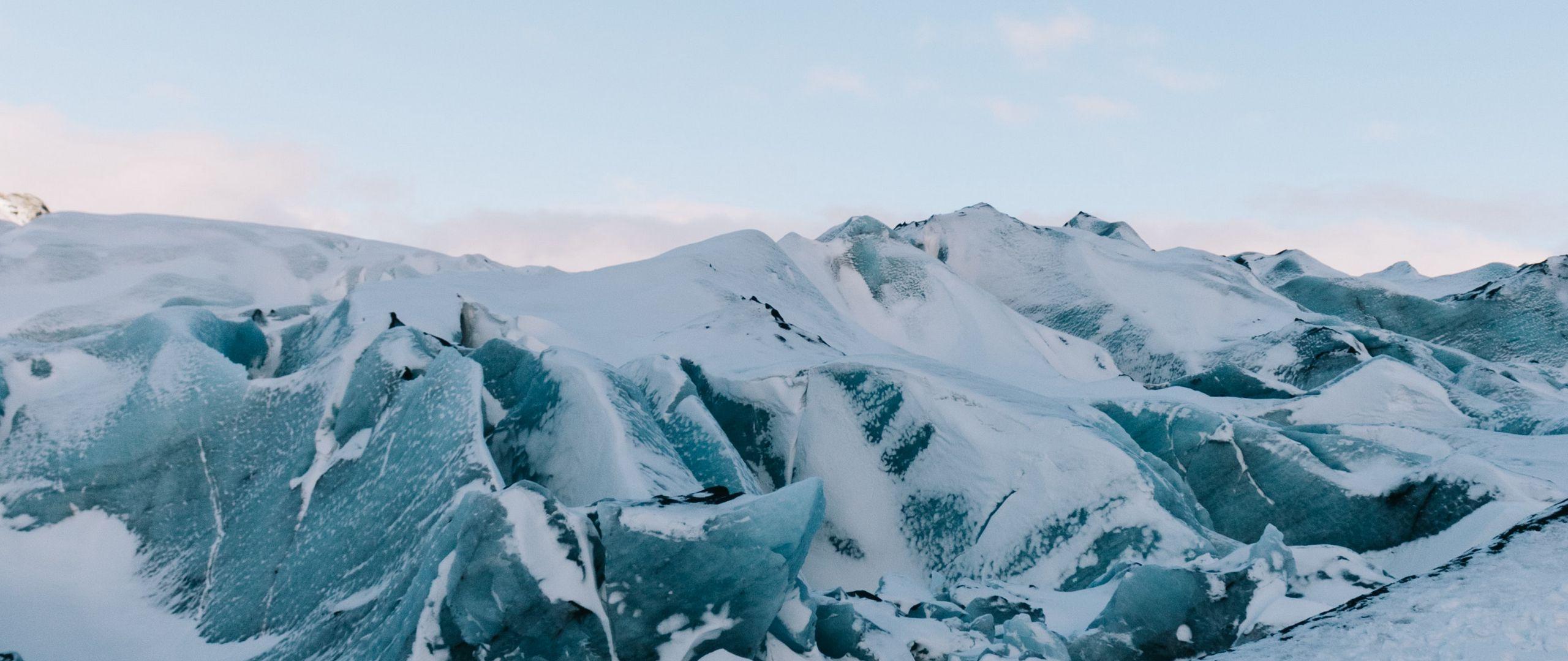 Fondos de pantalla Montañas congeladas