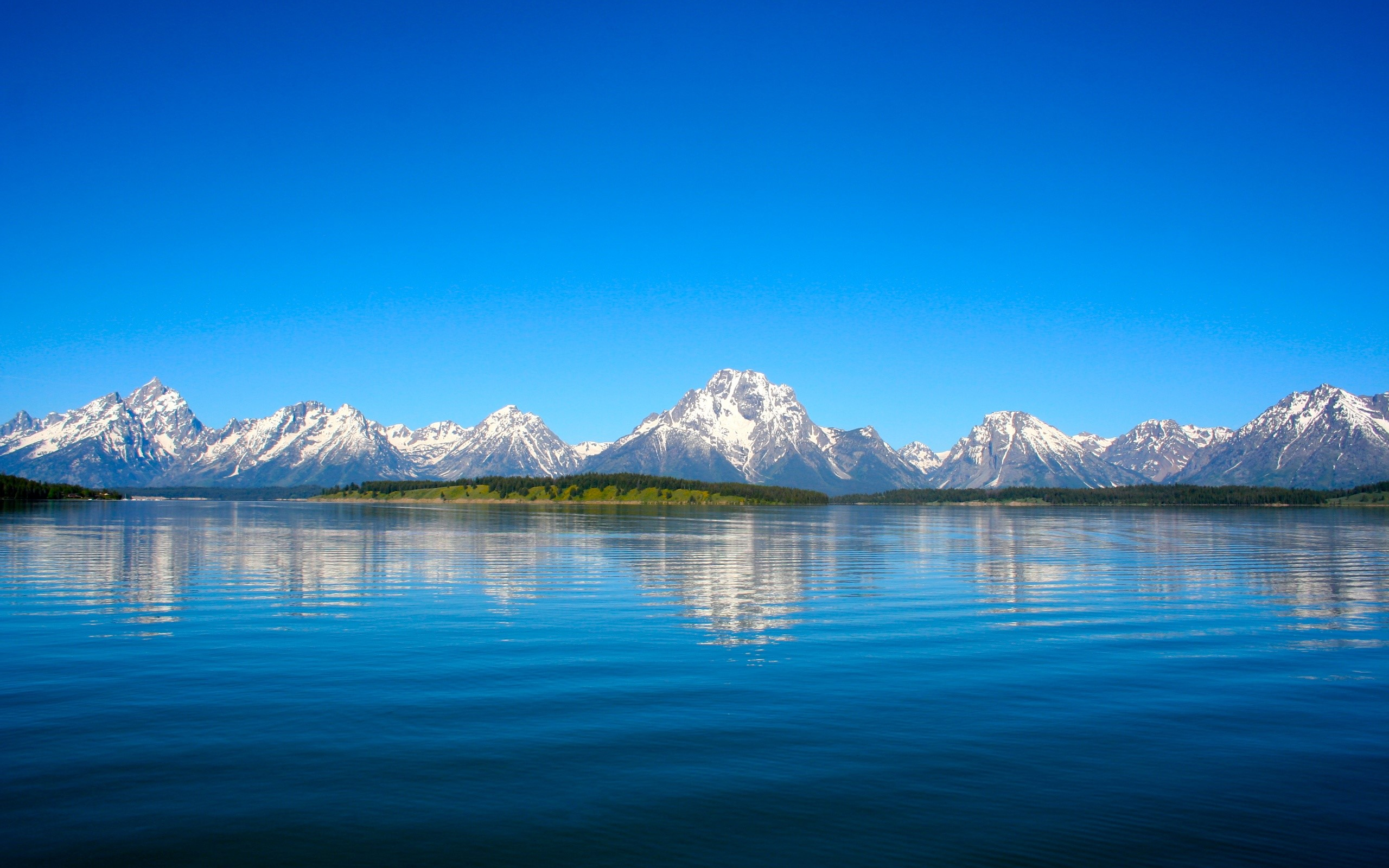 Fondos de pantalla Montañas del parque Grand Teton
