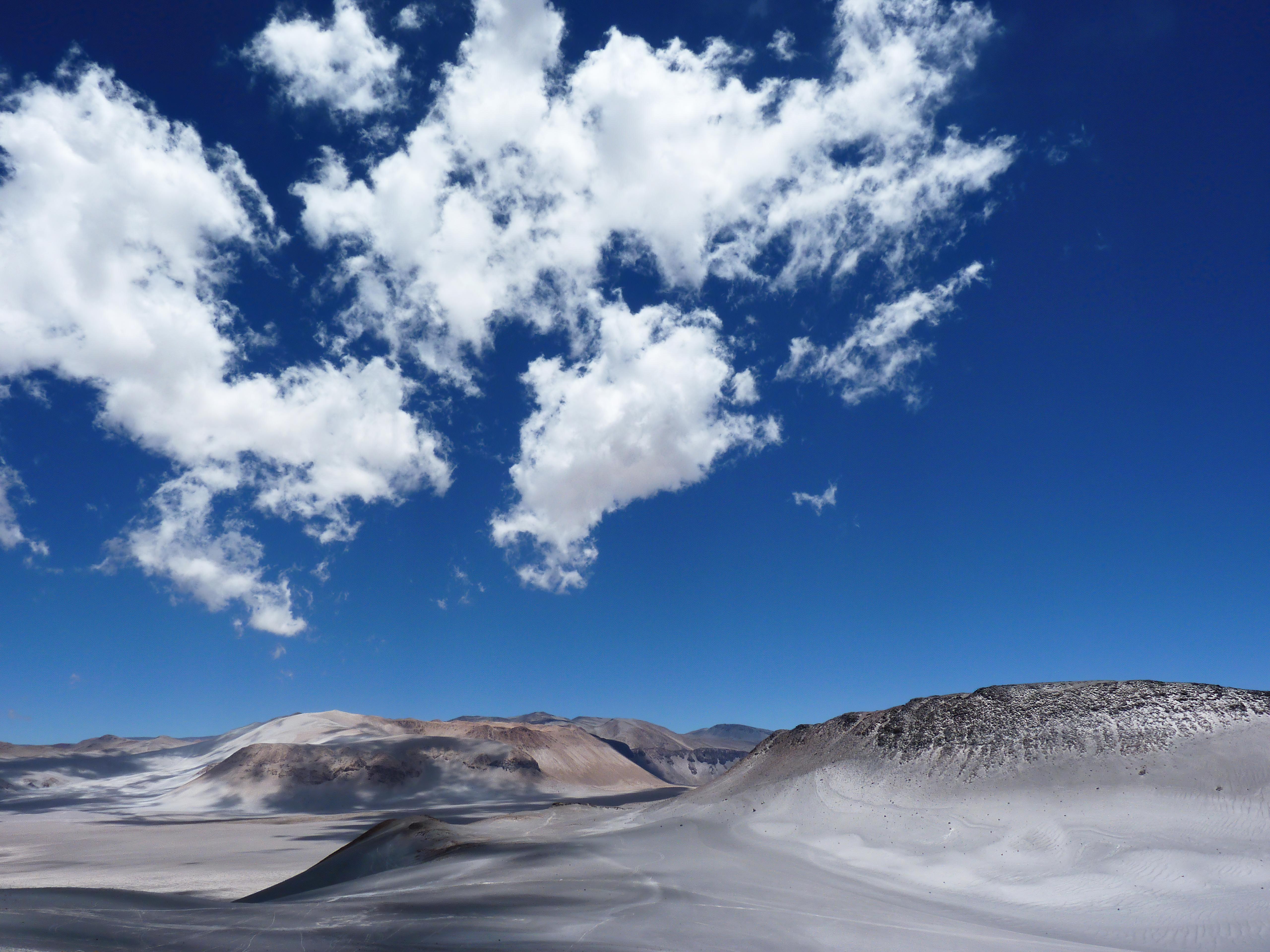 Wallpaper Desert Mountains