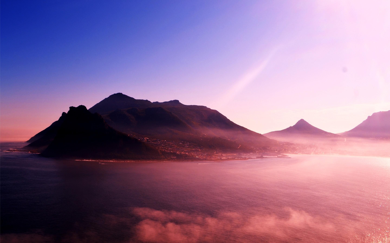 Fondos de pantalla Montañas en niebla