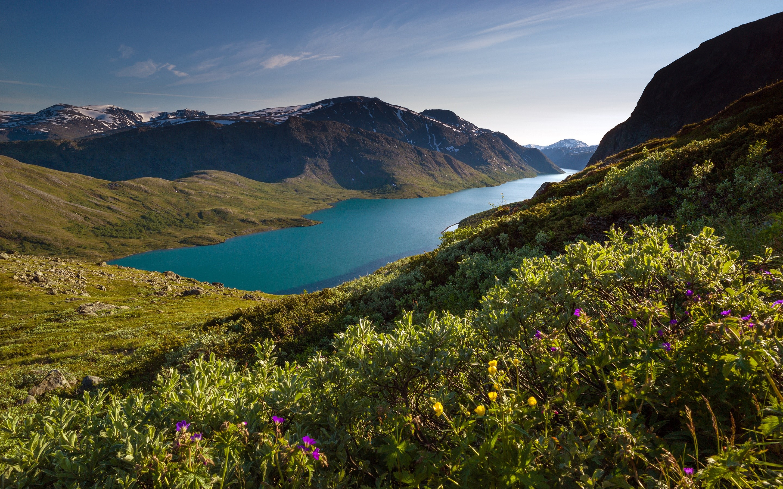 Wallpaper Norwegian mountains