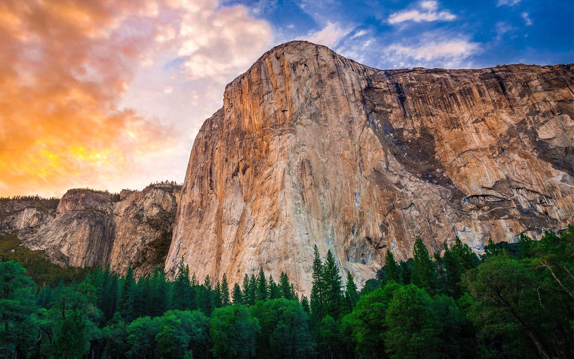 Wallpaper Yosemite Mountains