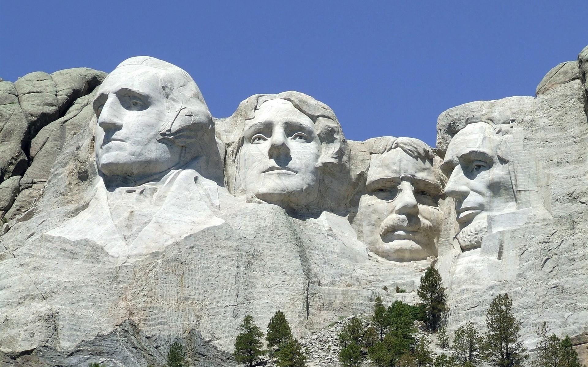 Wallpaper Mount Rushmore