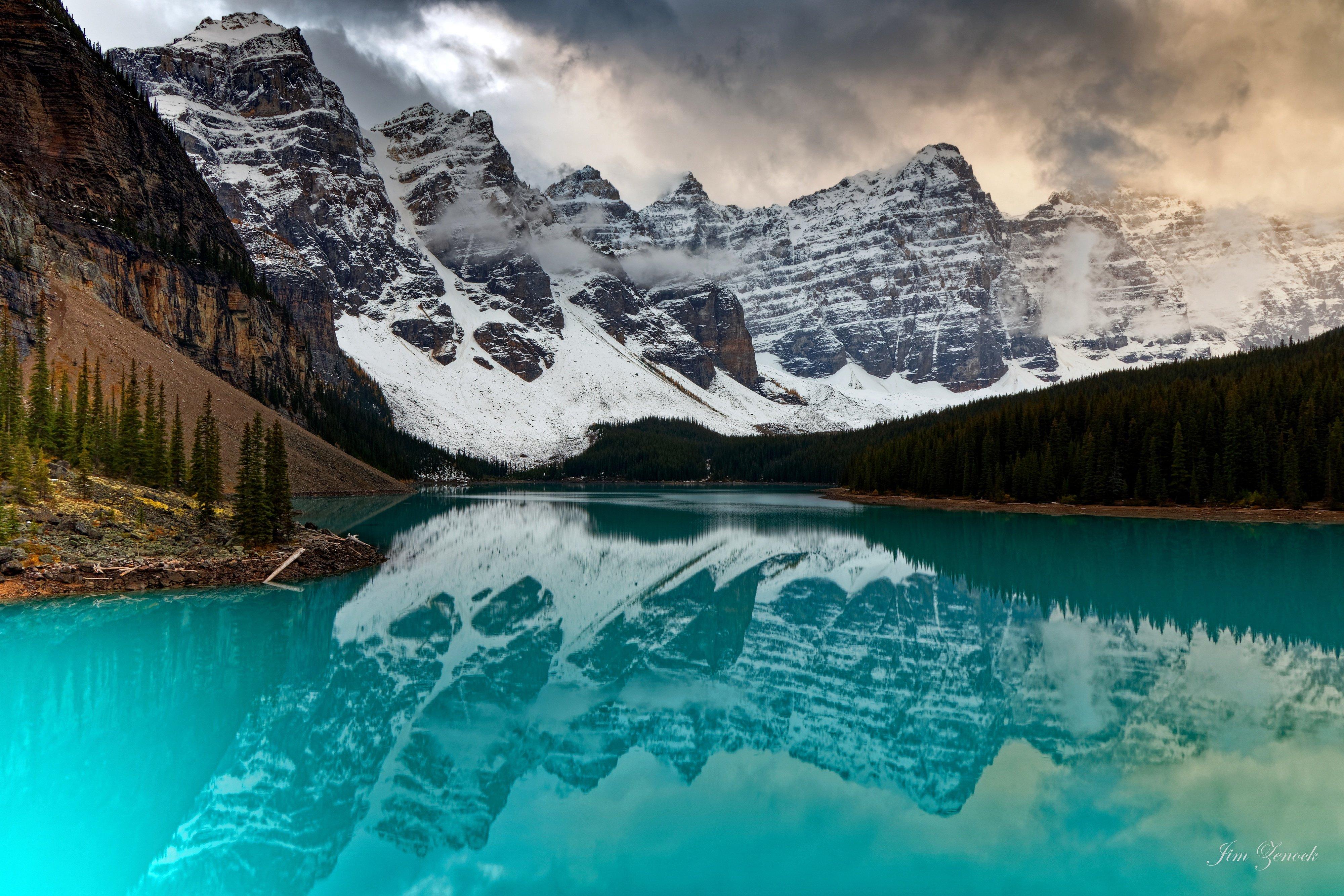 Wallpaper Moraine Canada
