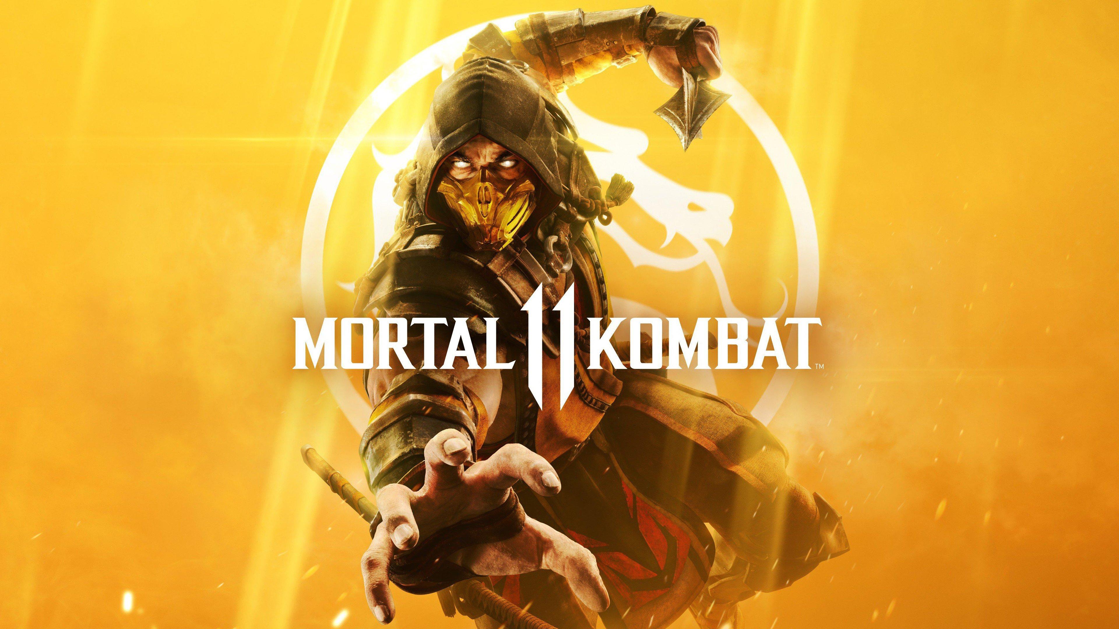 Mortal Kombat 11 Scorpion Wallpaper 4k Ultra Hd Id 3406