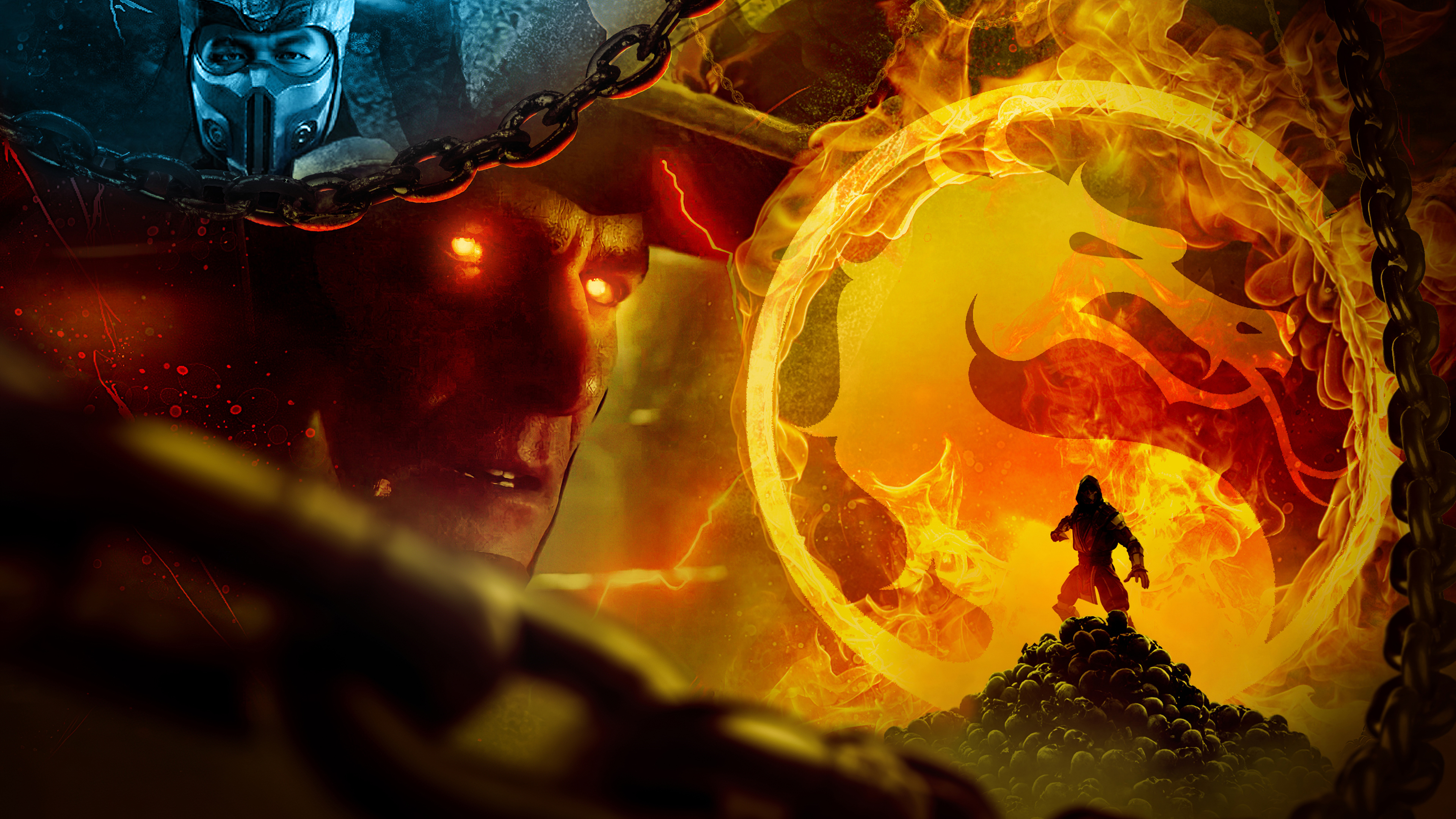 Wallpaper Mortal Kombat art