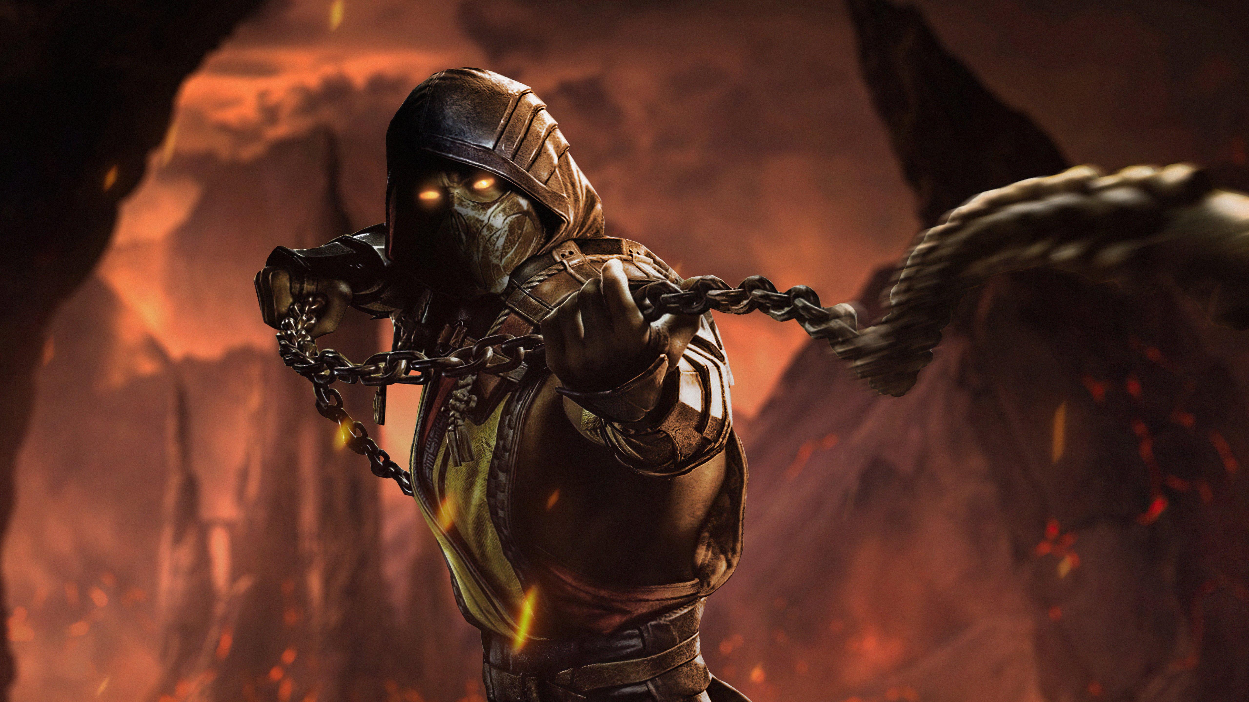 Fondos de pantalla Mortal Kombat Scorpion