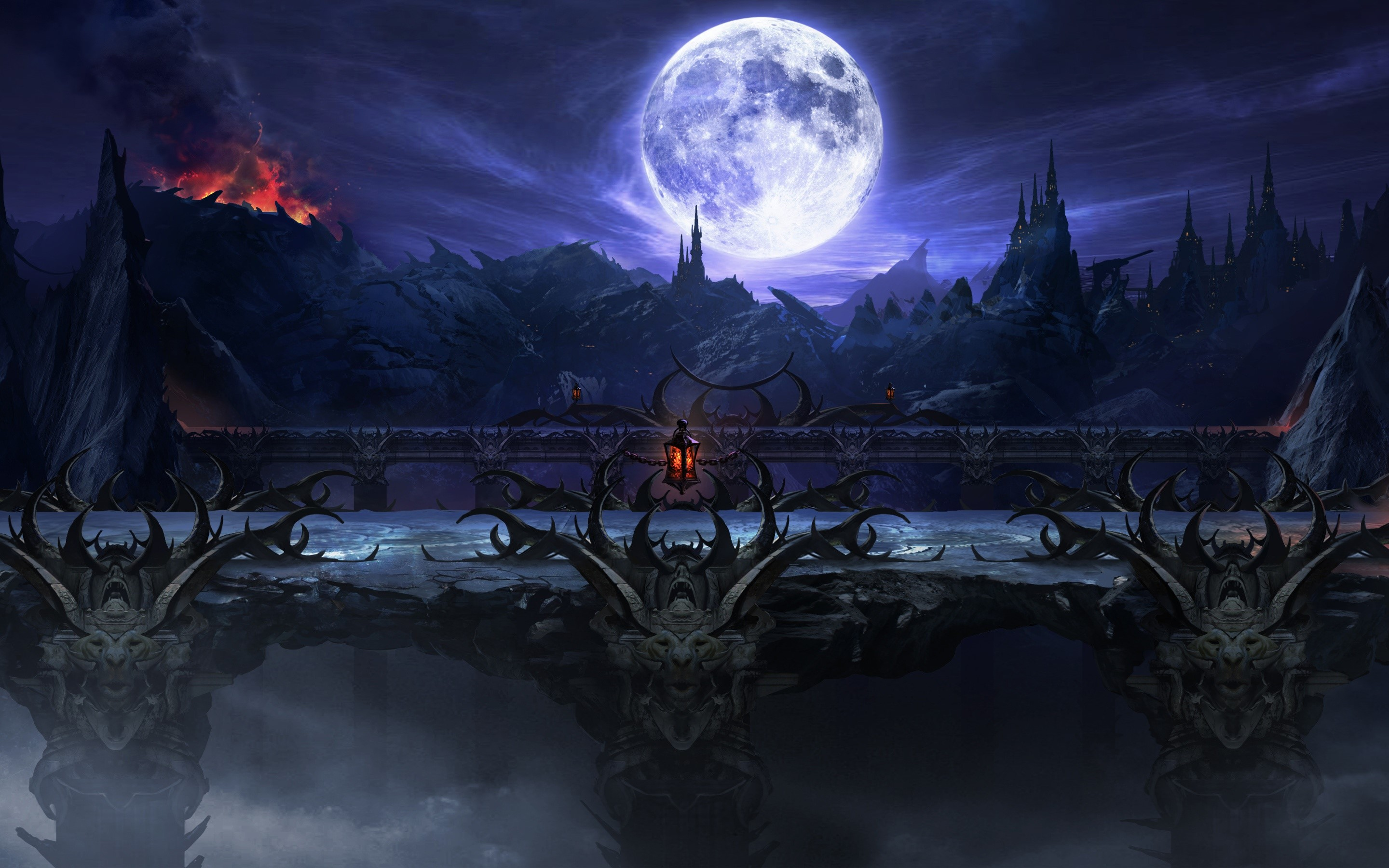 Wallpaper Mortal Kombat X Stage