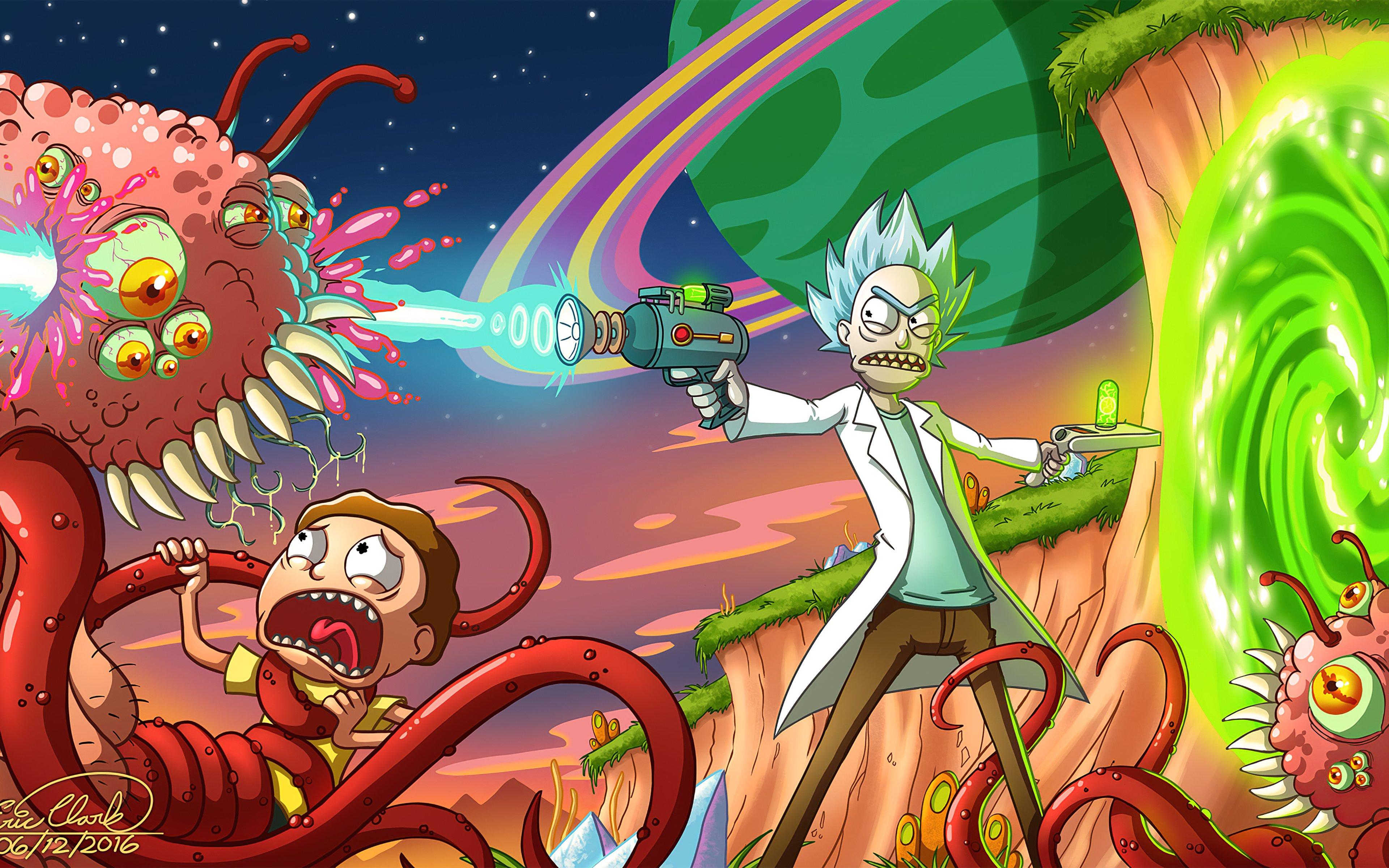 Fondos de pantalla Morty siendo atacado
