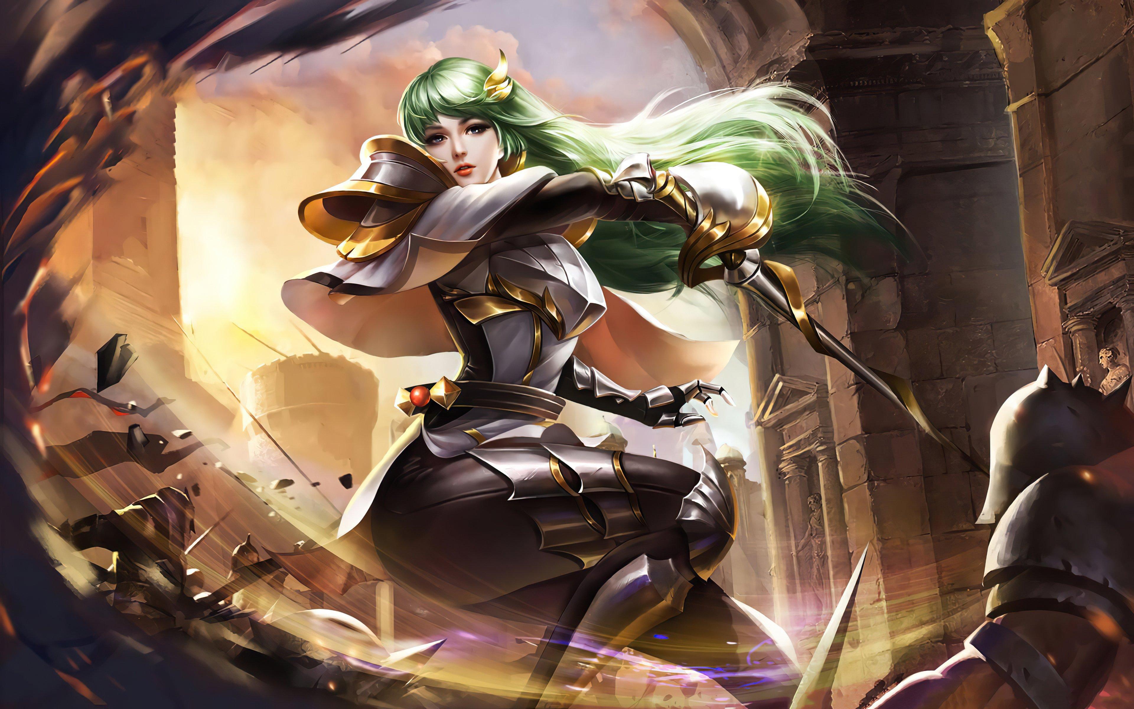 Wallpaper Mulan Heroes Evolved