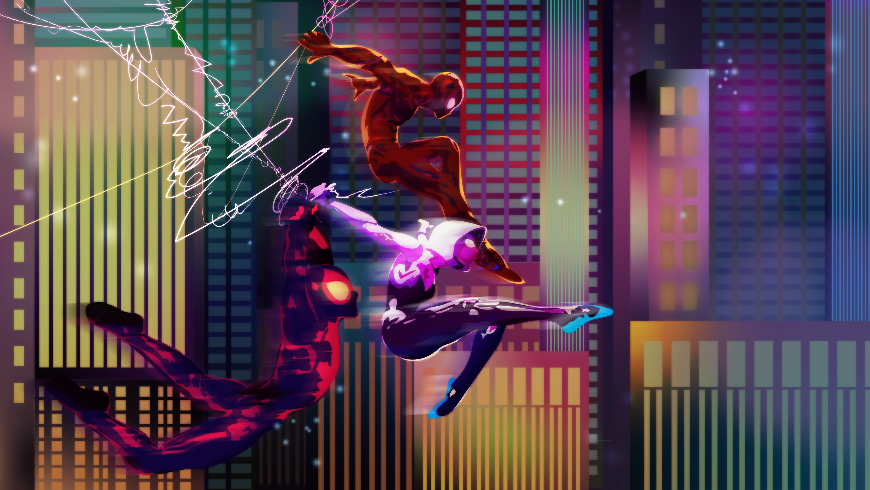 Fondos de pantalla Multiverso del hombre araña