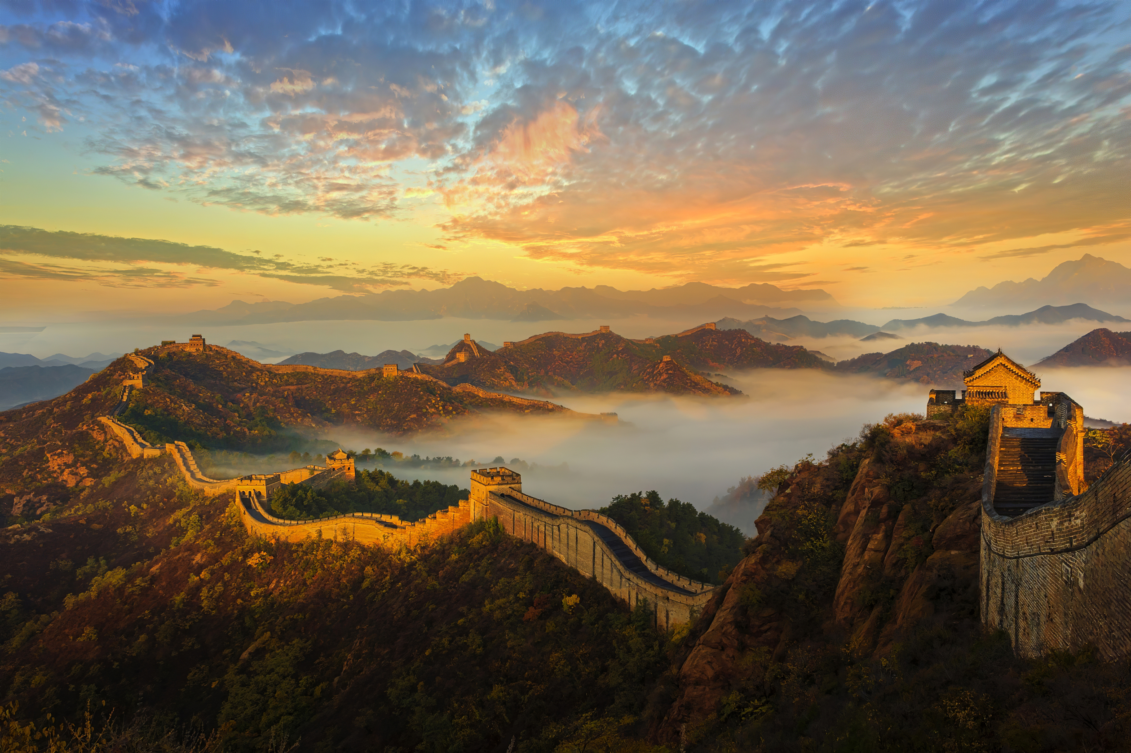 Fondos de pantalla Muralla China