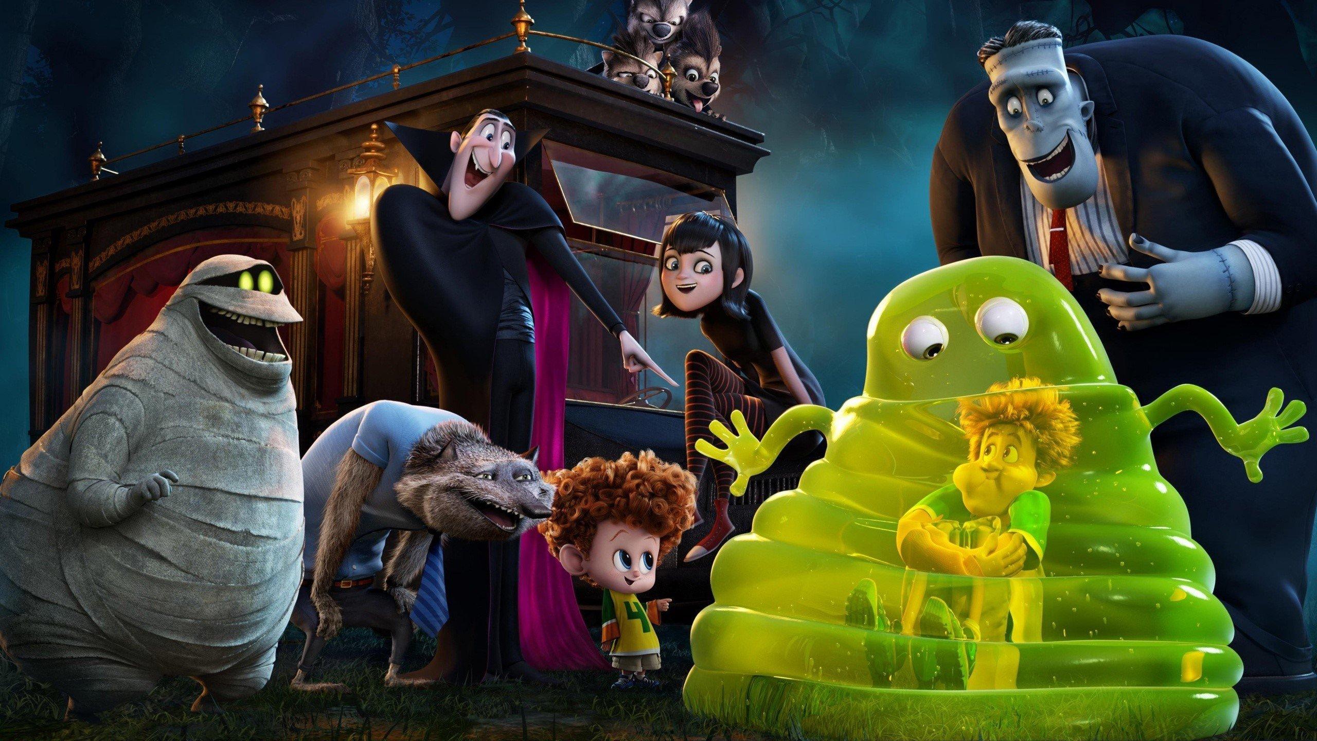 Fondos de pantalla Murray y Frankenstein Hotel Transylvania