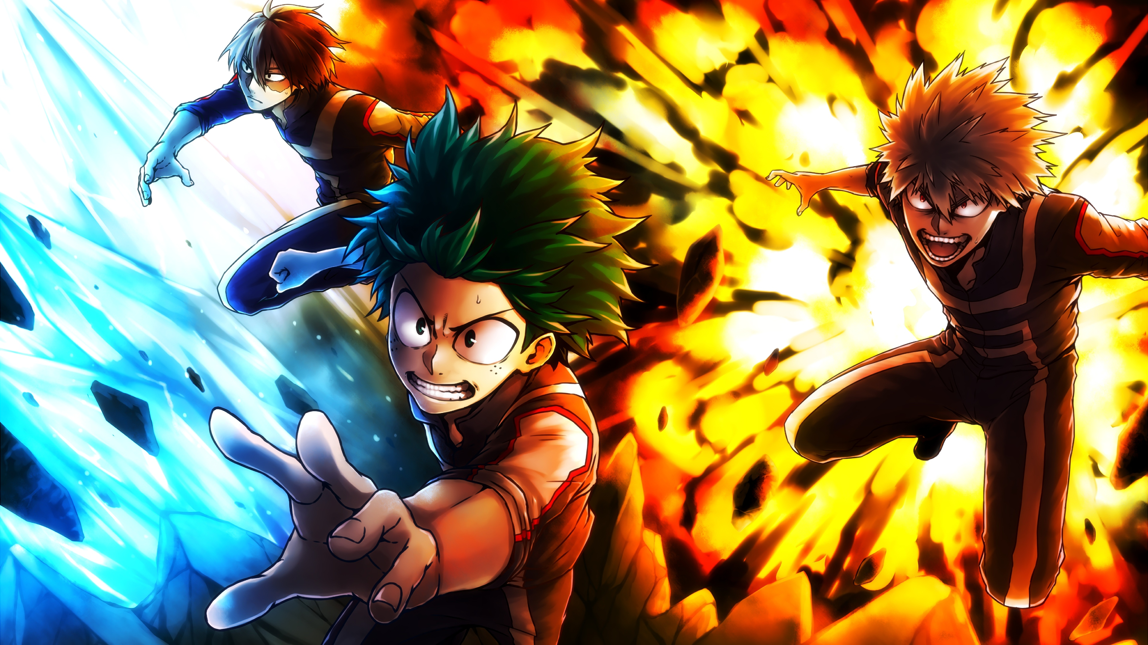My Hero Academia Anime Wallpaper 4k Ultra Hd Id 3383