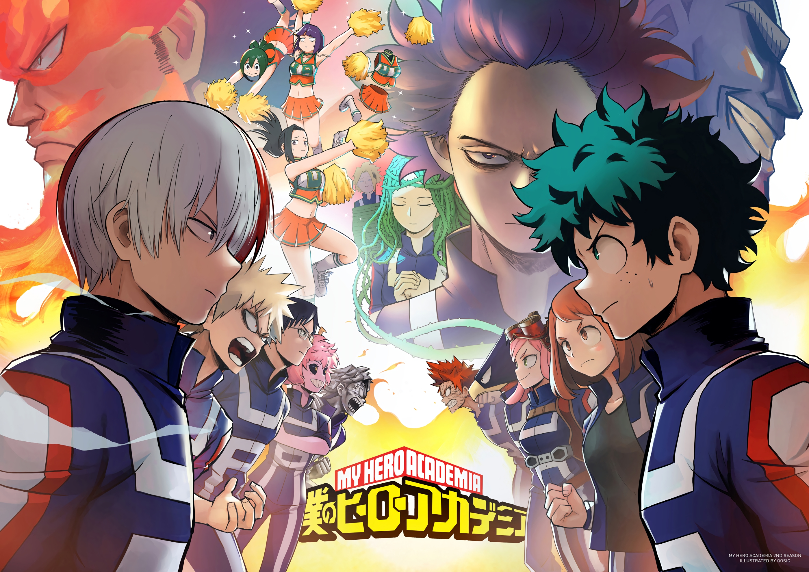 My Hero Academia Boku No Hero Academia Anime Wallpaper Id 3395