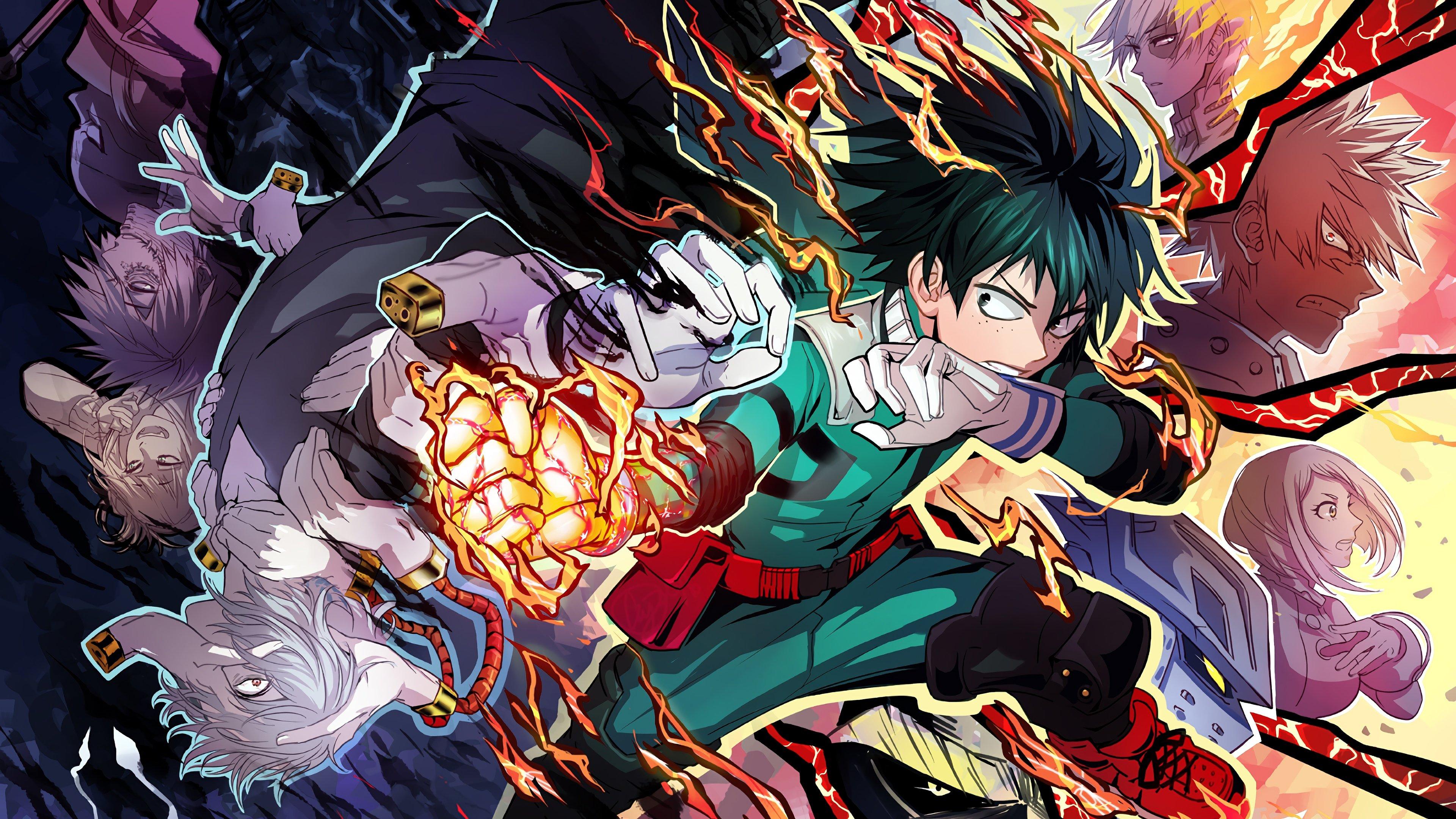 My Hero Academia Personajes Boku No Hero Academia Anime
