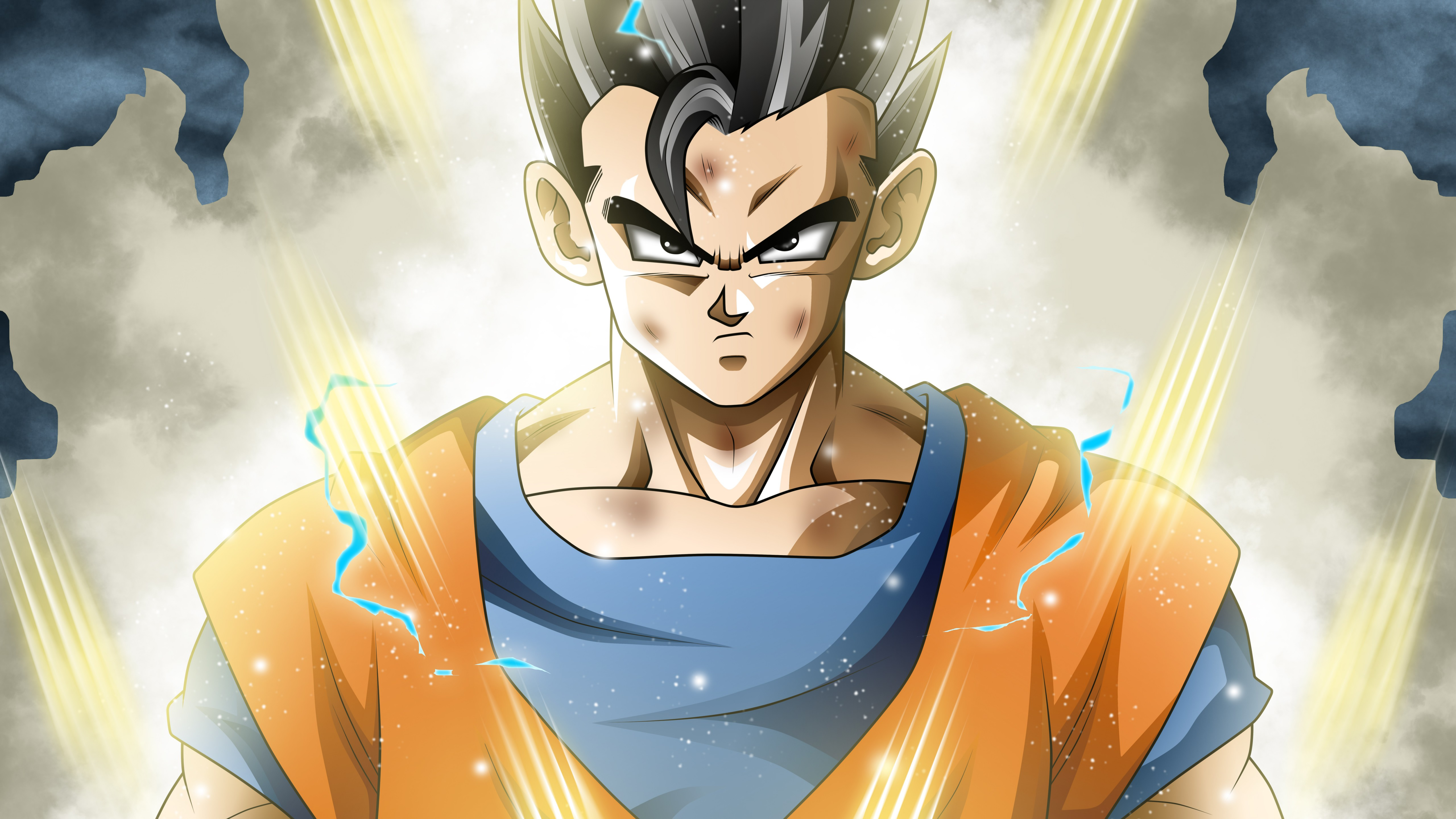 Fondos de pantalla Anime Mystic / Ultimate Gohan de Dragon Ball Super