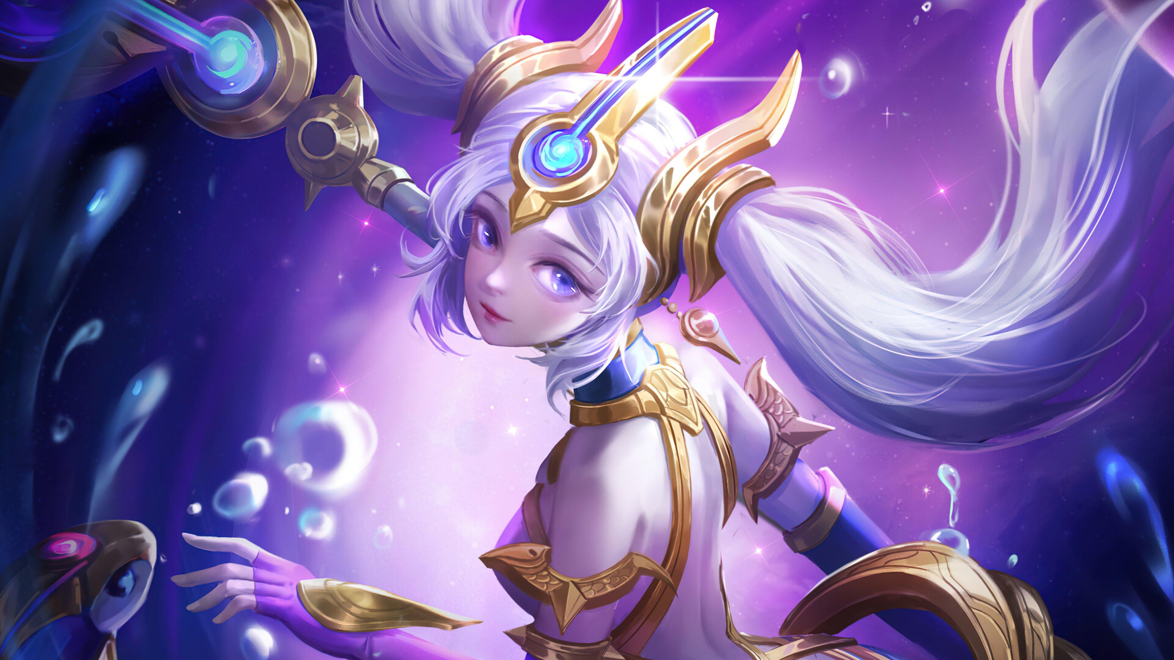 Wallpaper Nami Cosmic Destiny League of Legends