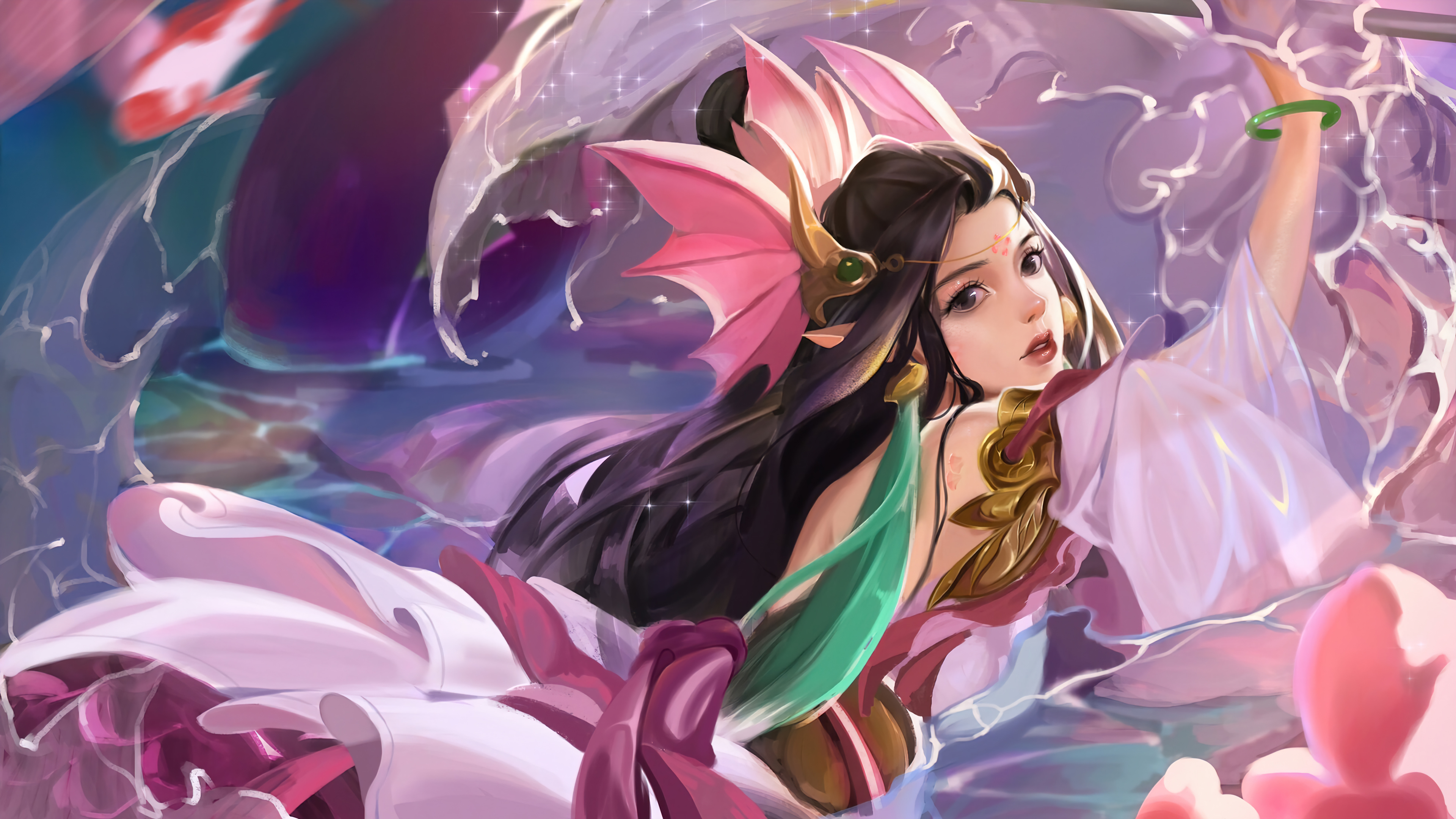 Wallpaper Nami League of Legends