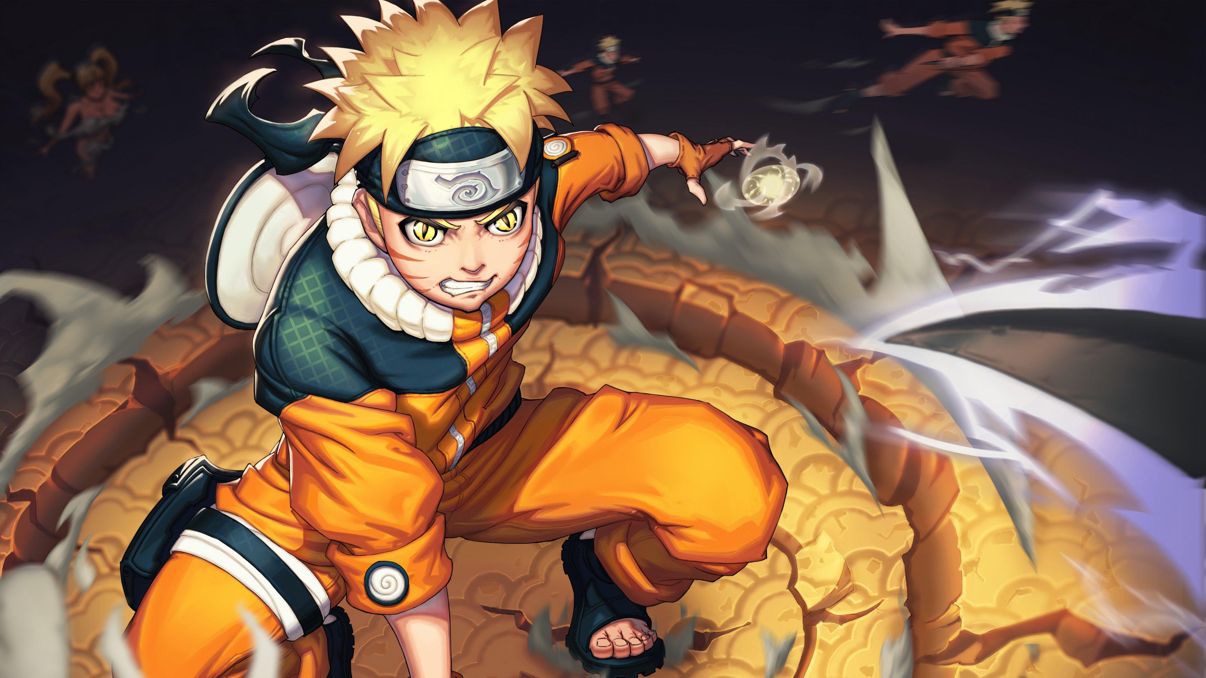 Naruto Fanart Anime Wallpaper 4k Ultra HD ID:4911