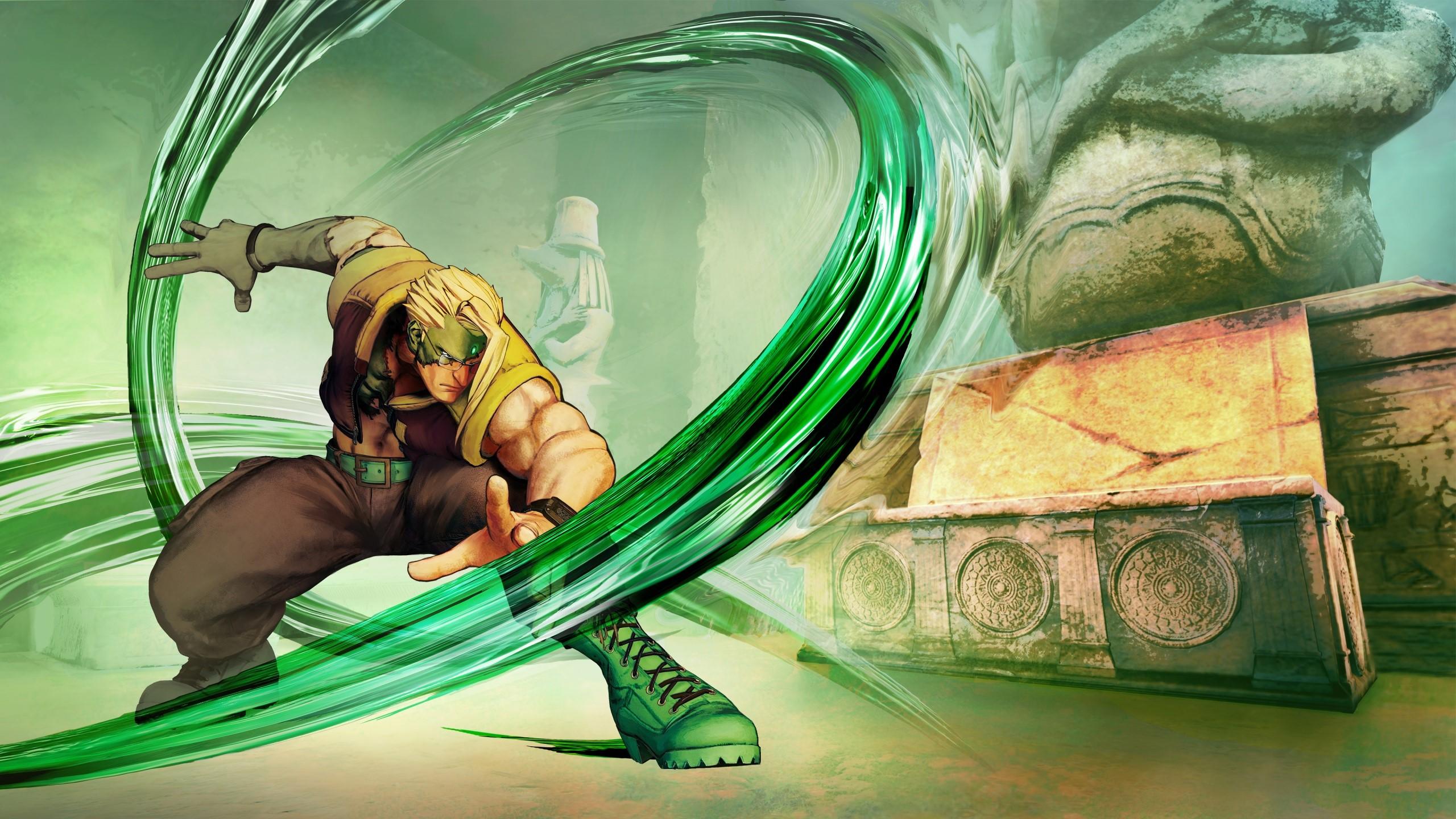 Wallpaper Nash from Street Fighter V