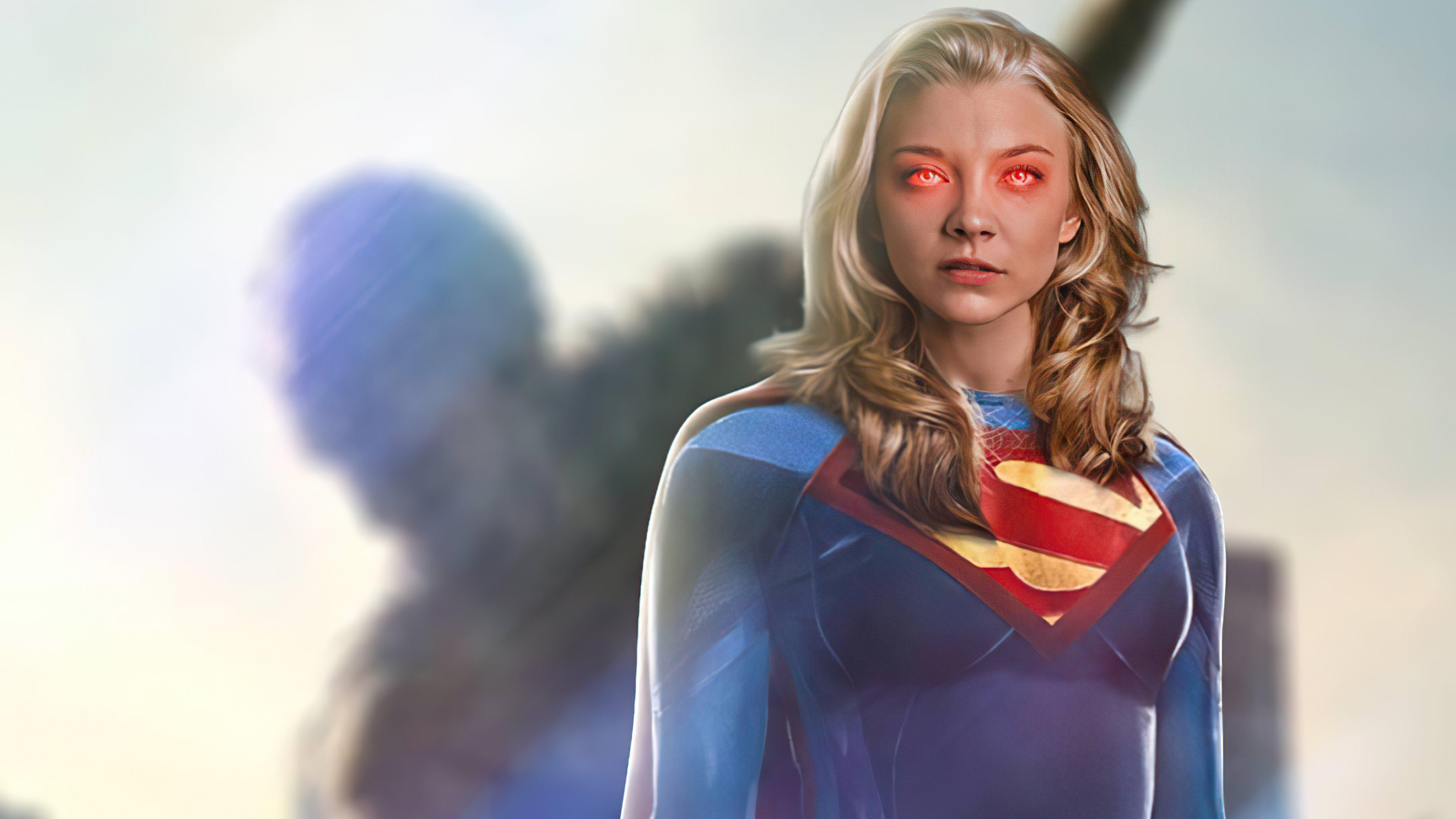 Wallpaper Natalie Dormer as Supergirl