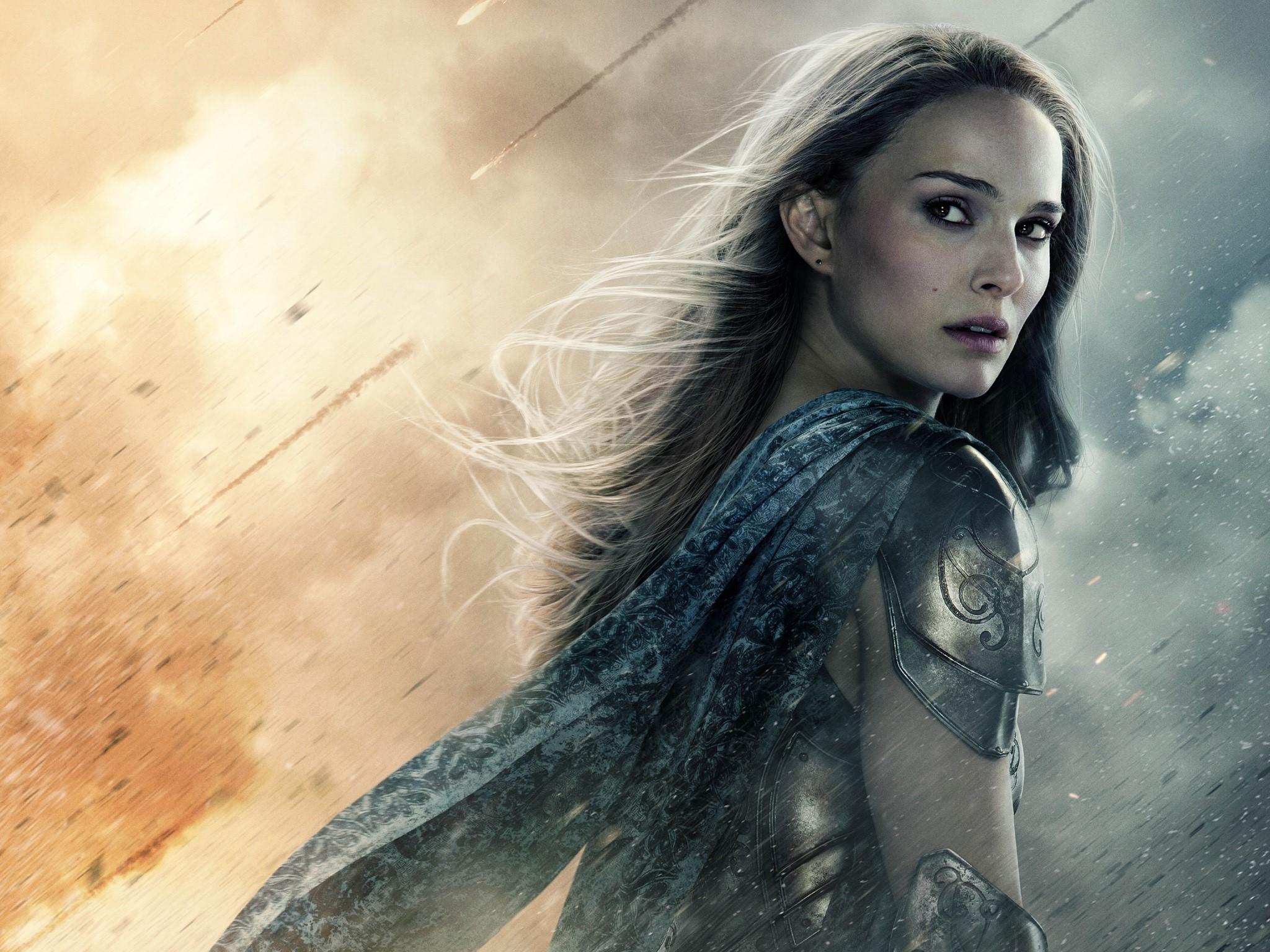 Wallpaper Natalie Portman in Thor 2