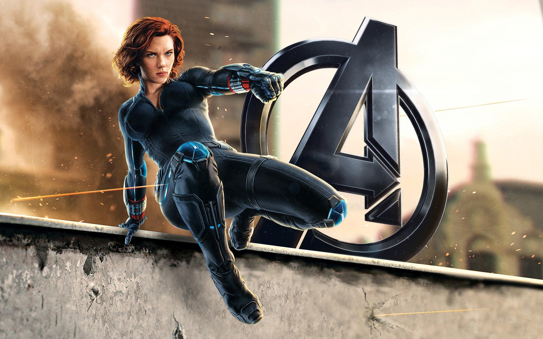Wallpaper Natasha Romanoff in Avengers