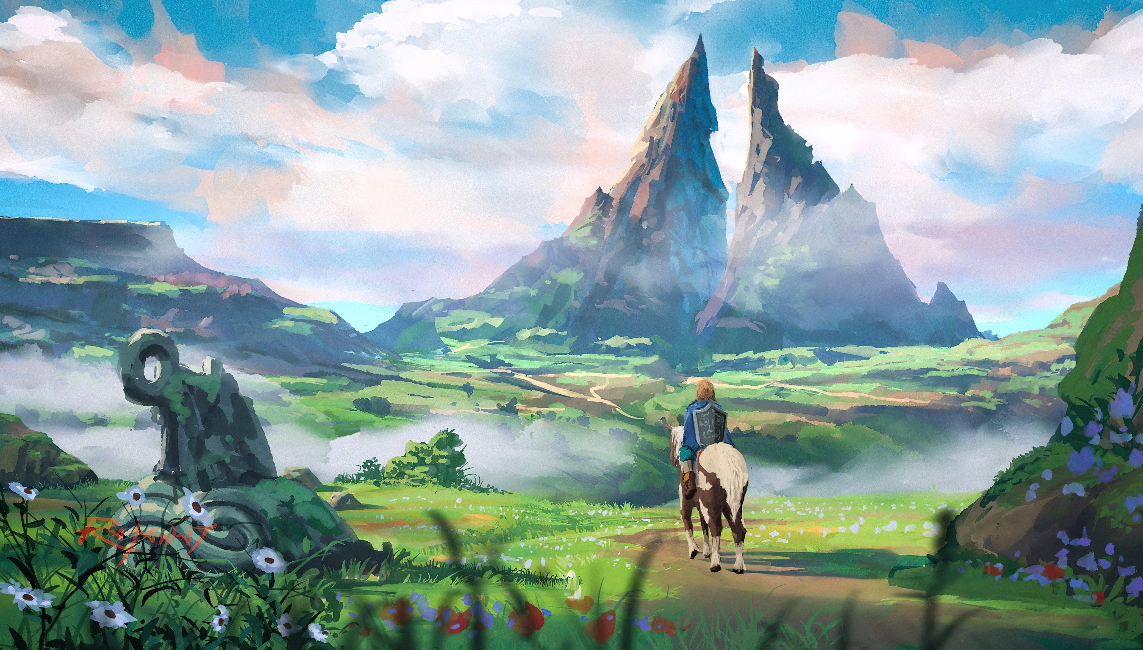 Fondos de pantalla Naturaleza en The Legend of Zelda