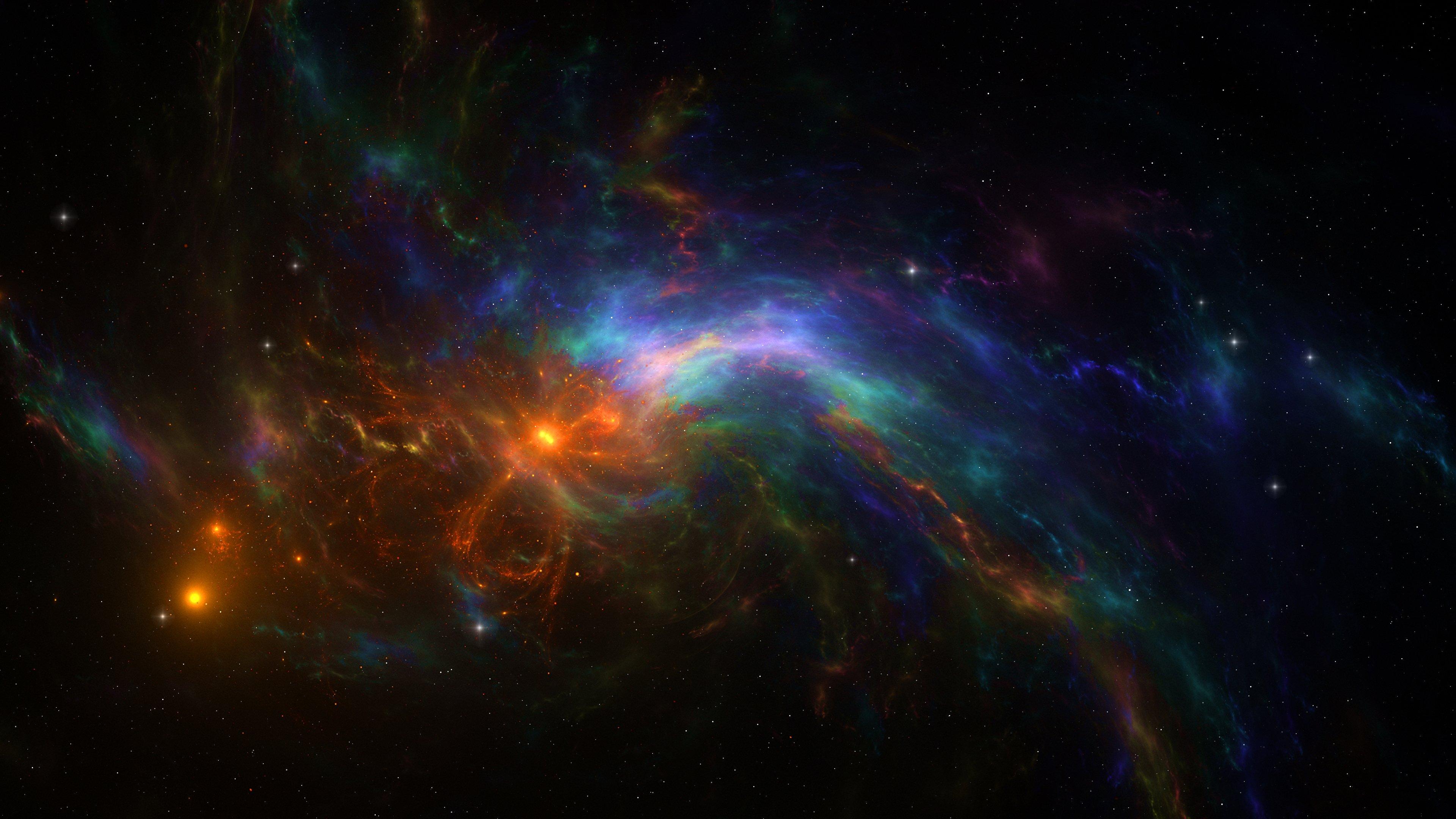 Fondos de pantalla Nebula colorida