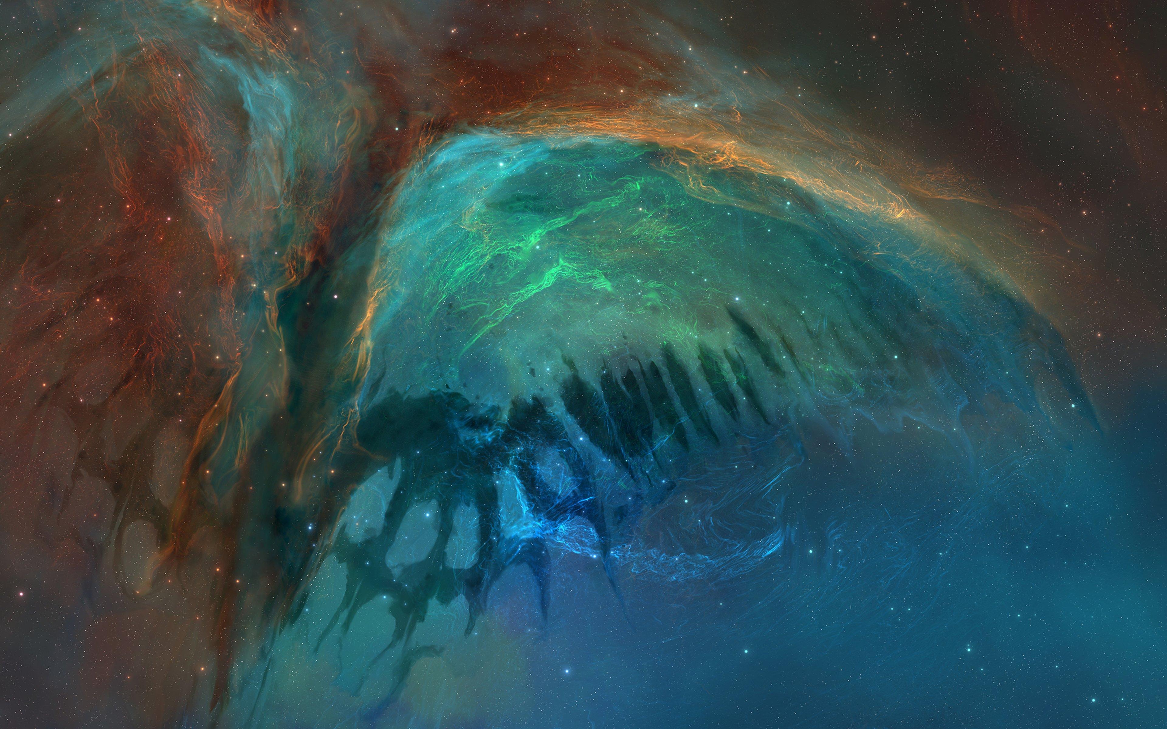 Fondos de pantalla Nebulosa como mariposa en el espacio