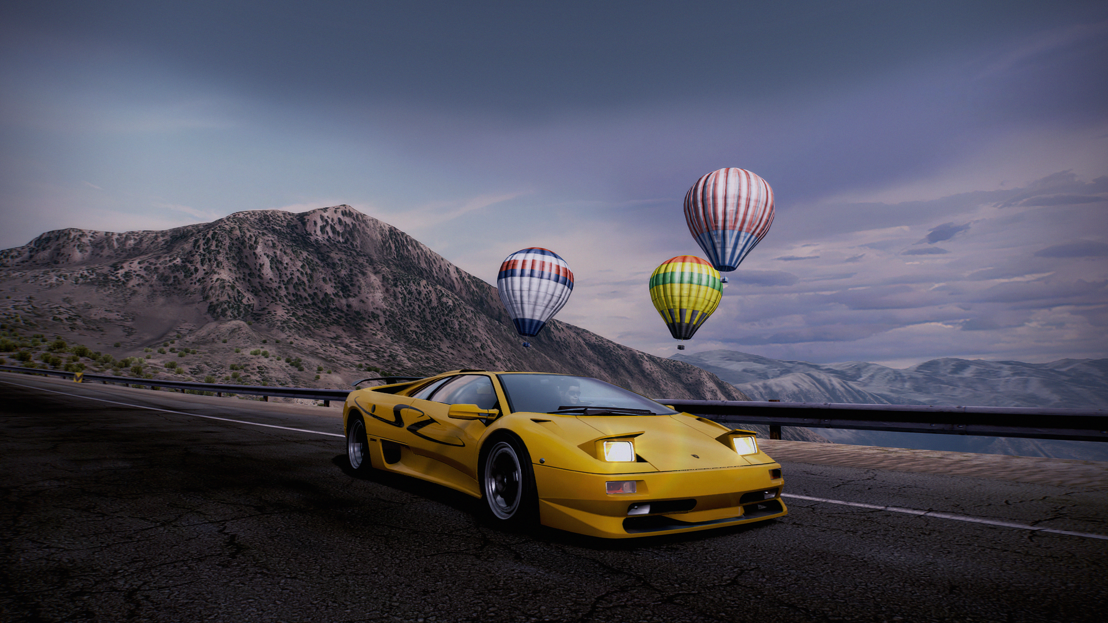 Fondos de pantalla Need for Speed Hot pursuit Lamborghini Diablo