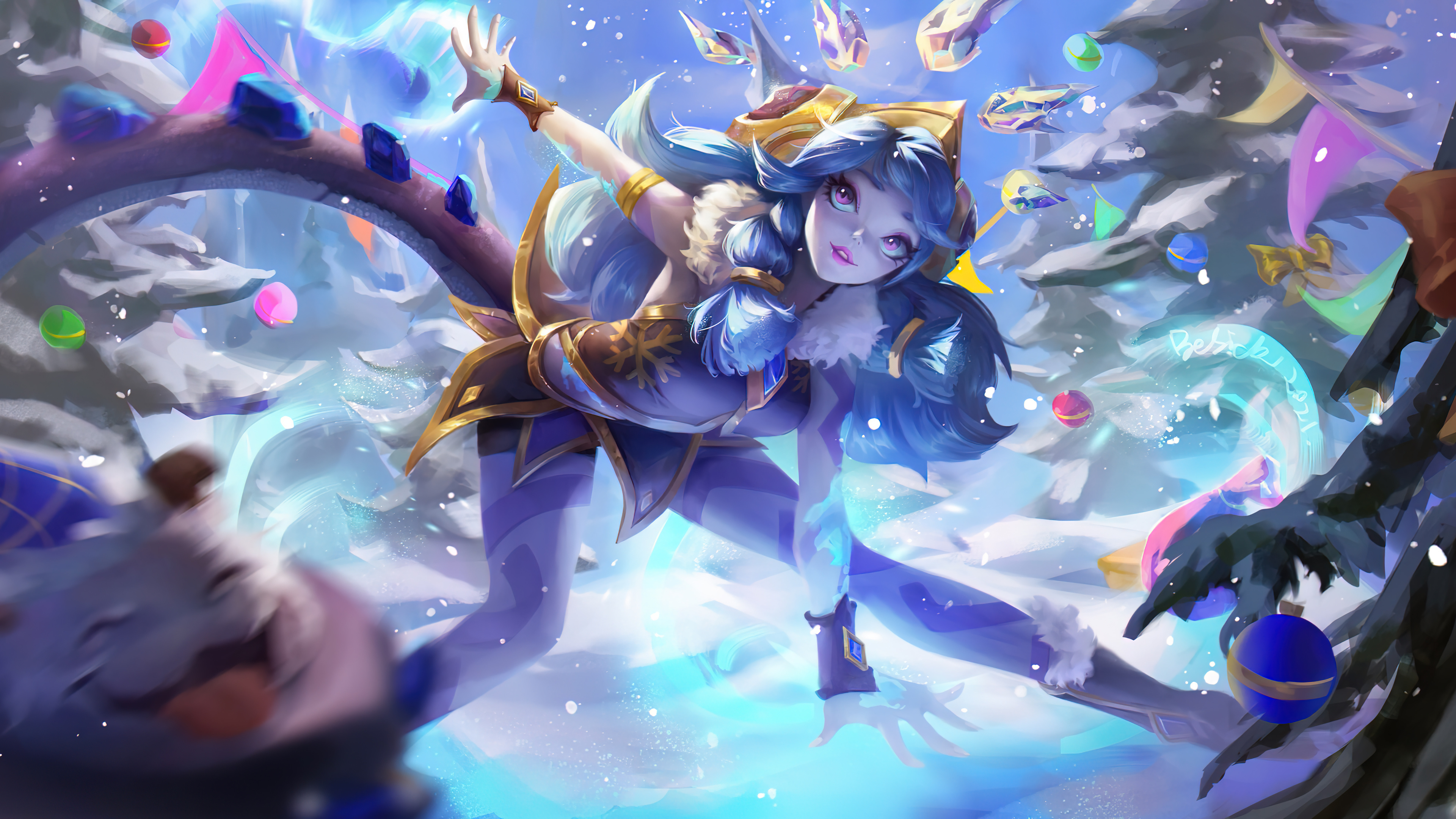 Fondos de pantalla Neeko de League of Legends Art