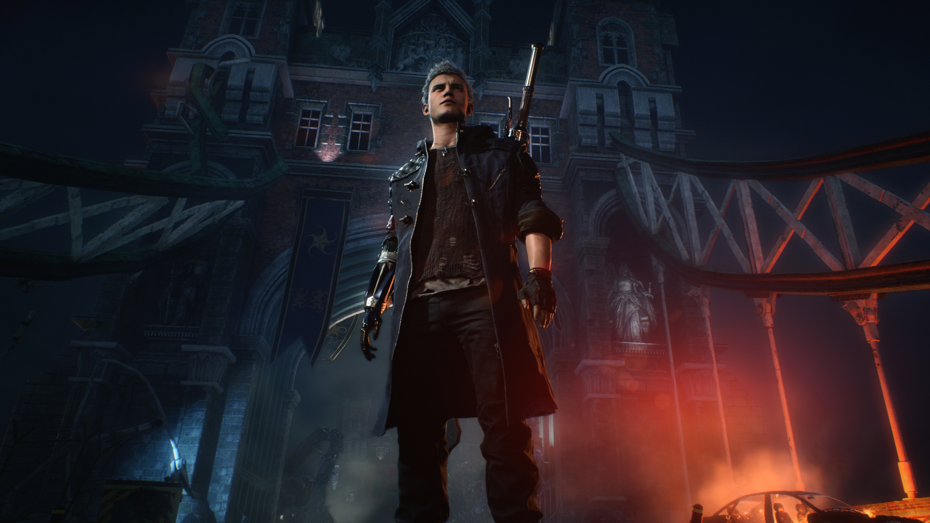 Nero From Devil May Cry 5 Wallpaper 4k Ultra Hd Id4326