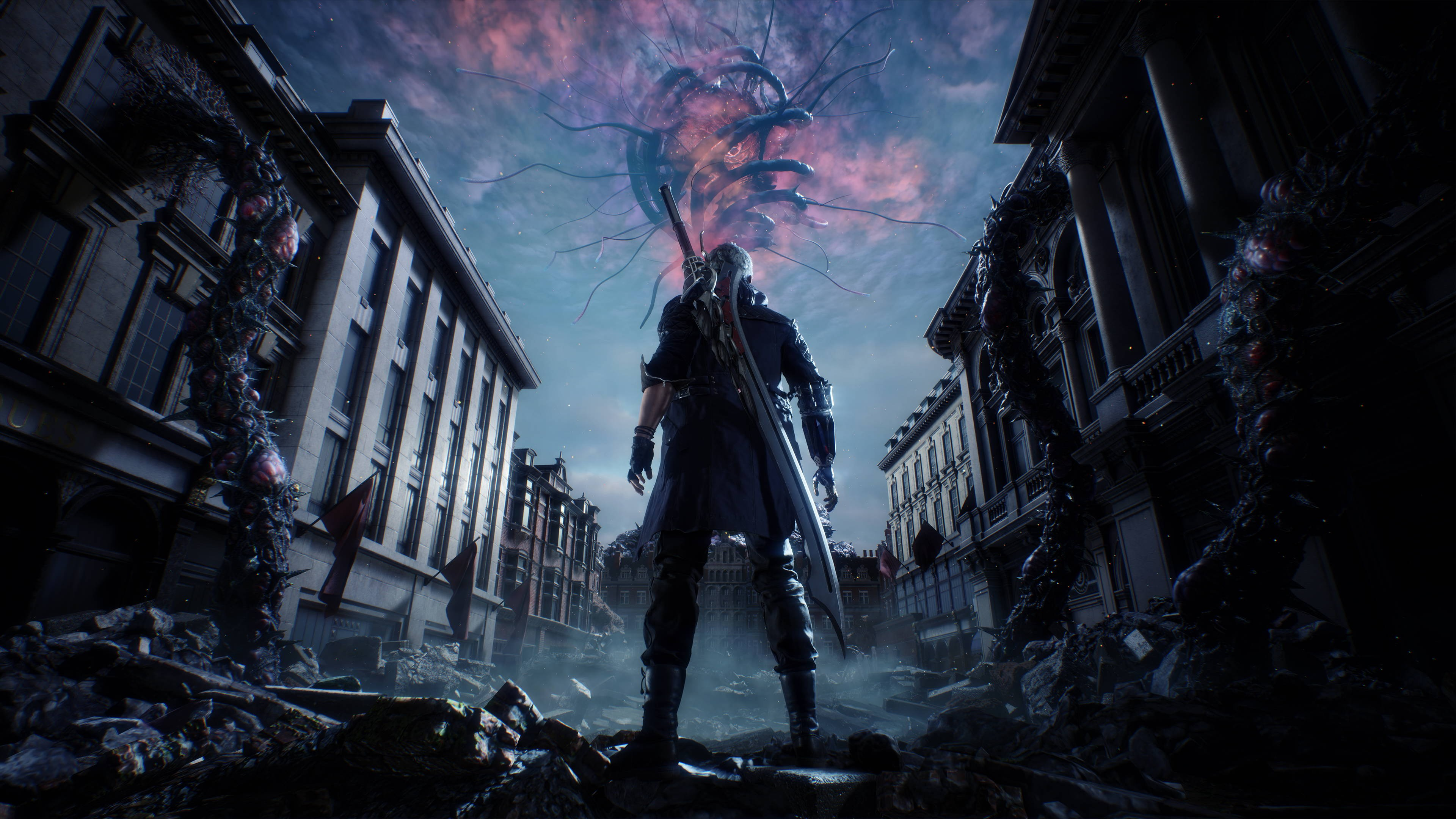 Nero From Devil May Cry 5 Wallpaper 4k Ultra Hd Id4327