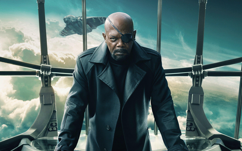 Fondos de pantalla Nick Fury en Capitan America