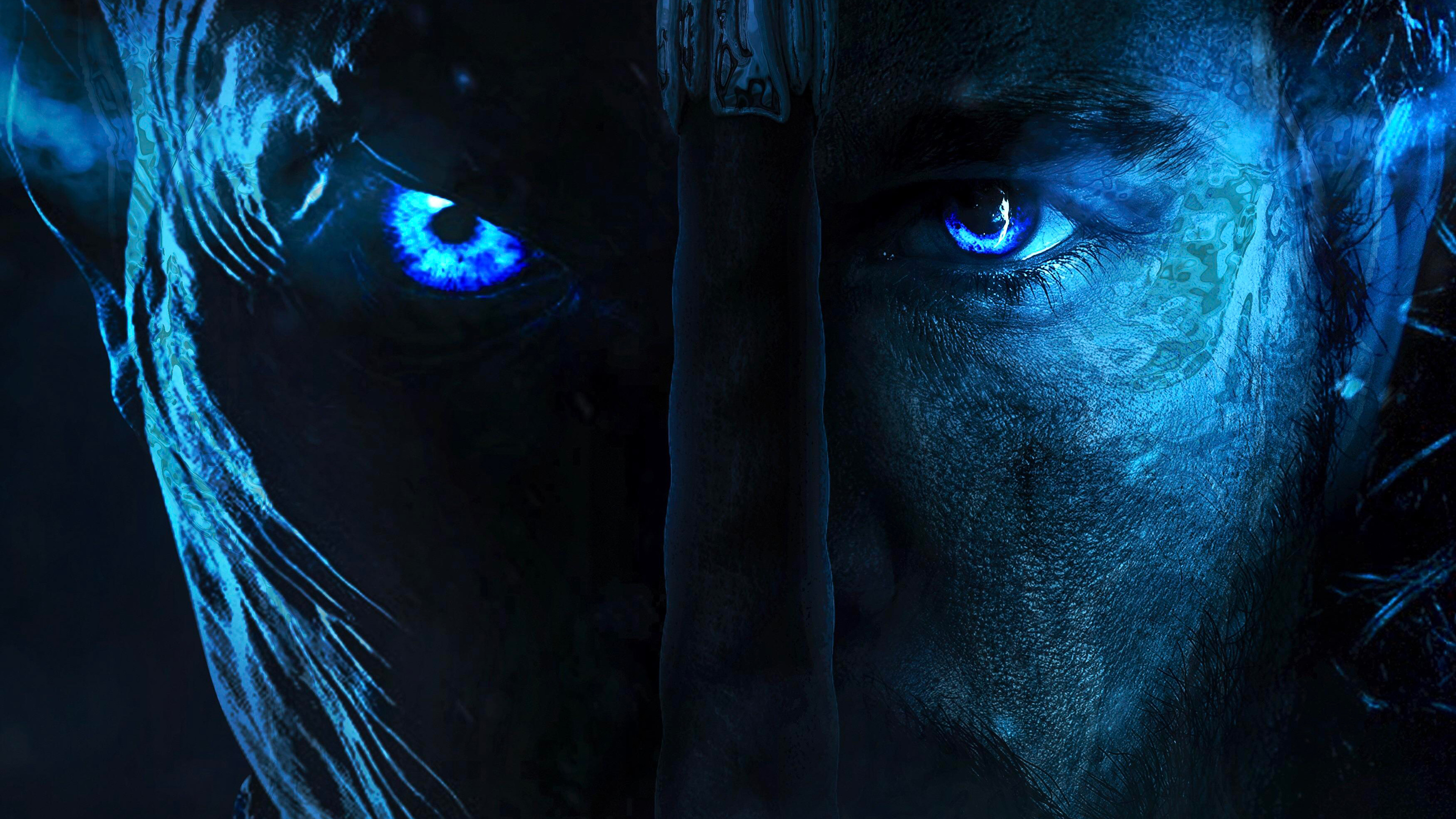 Night King And Jon Snow Game Of Thrones Wallpaper 4k Ultra