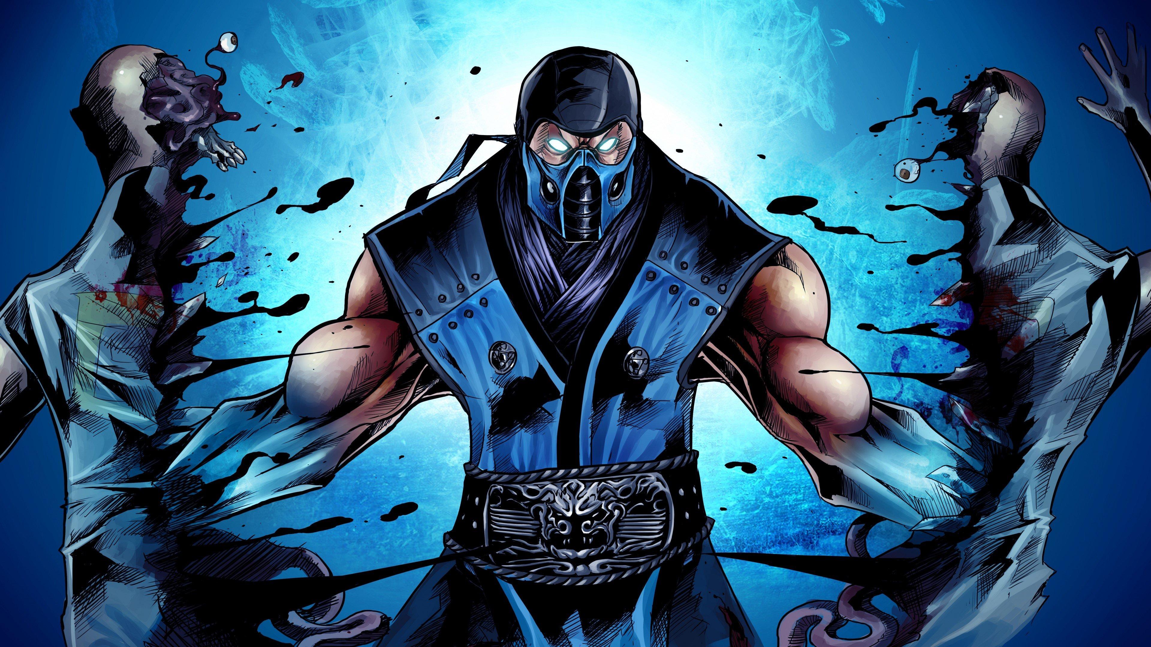 Wallpaper Ninja from the game Mortal Kombat