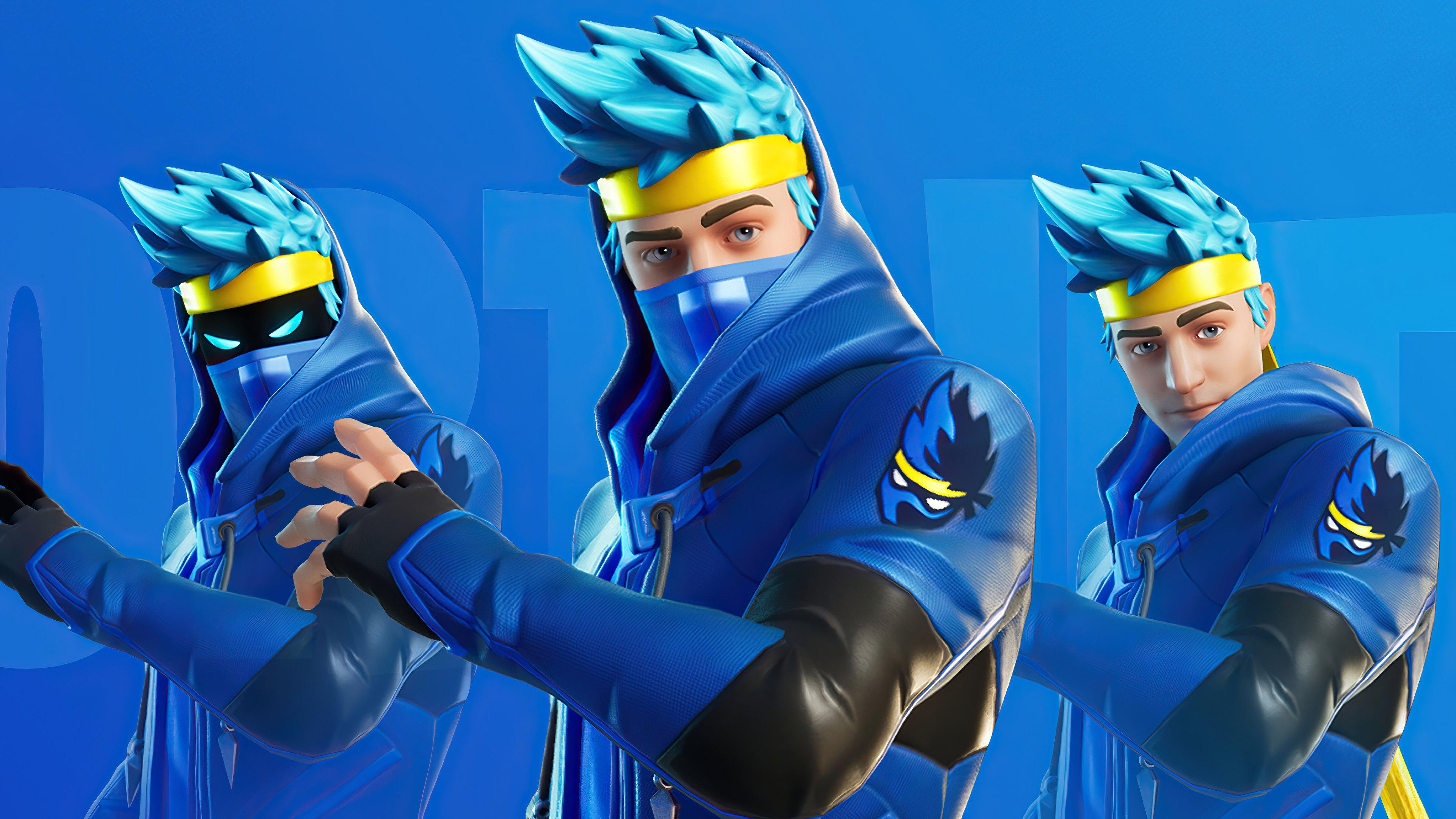 Fondos de pantalla Ninja Fortnite Battle Royale Skin