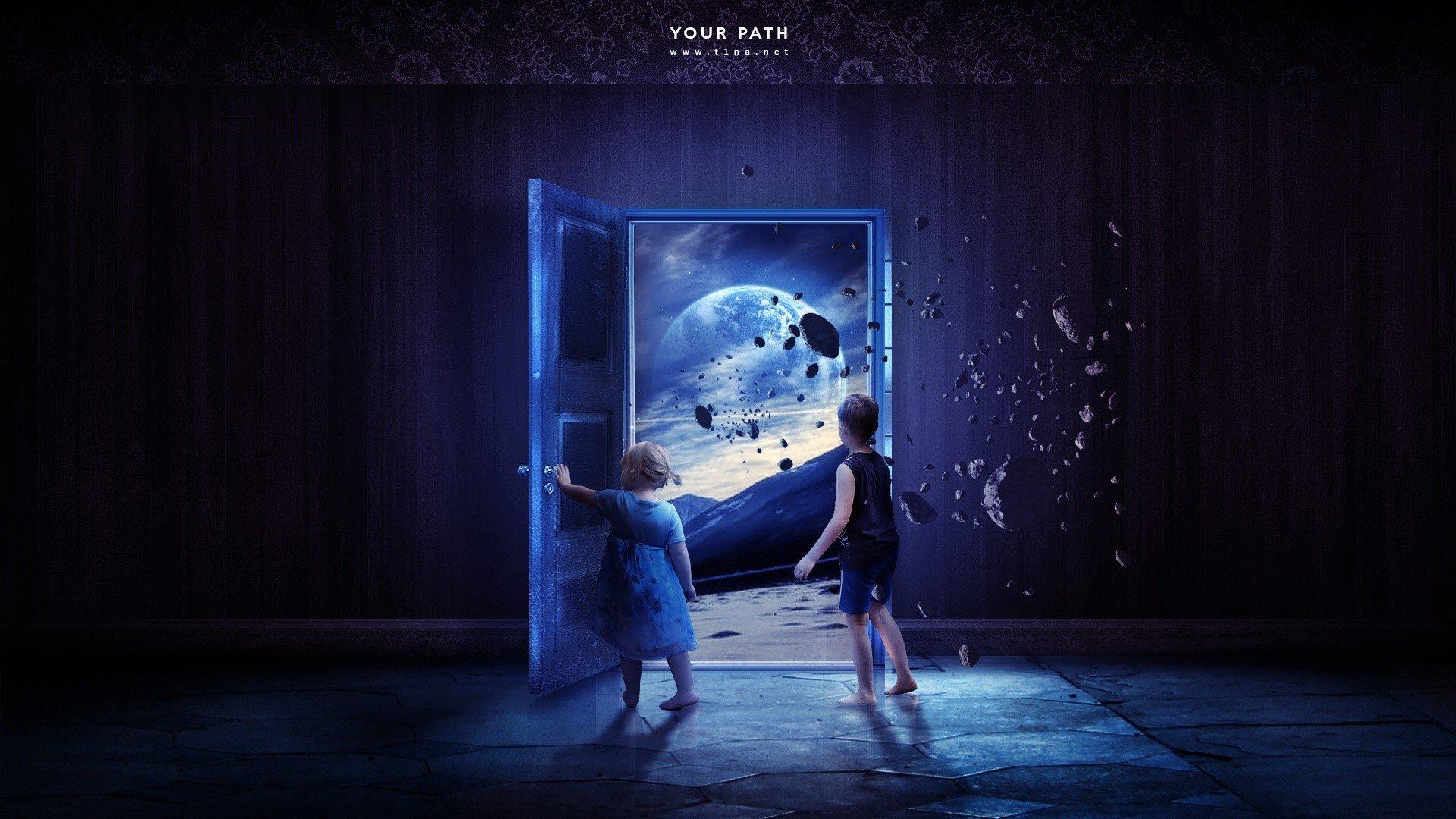 Fondo de pantalla de Niños en el espacio Imágenes