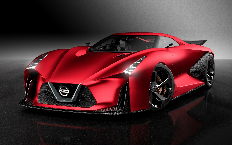 Wallpaper Nissan Concept 2020