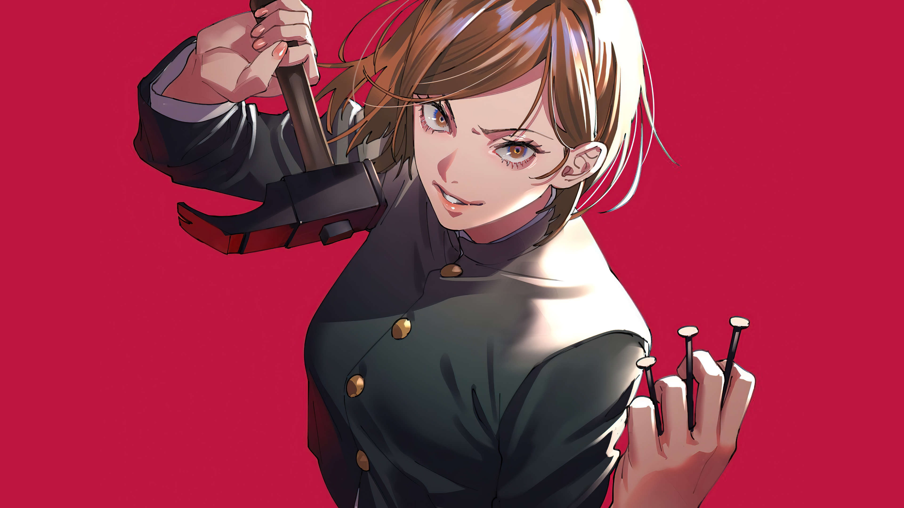 Nobara Kugisaki de Jujutsu Kaisen Anime Fondo de pantalla ...