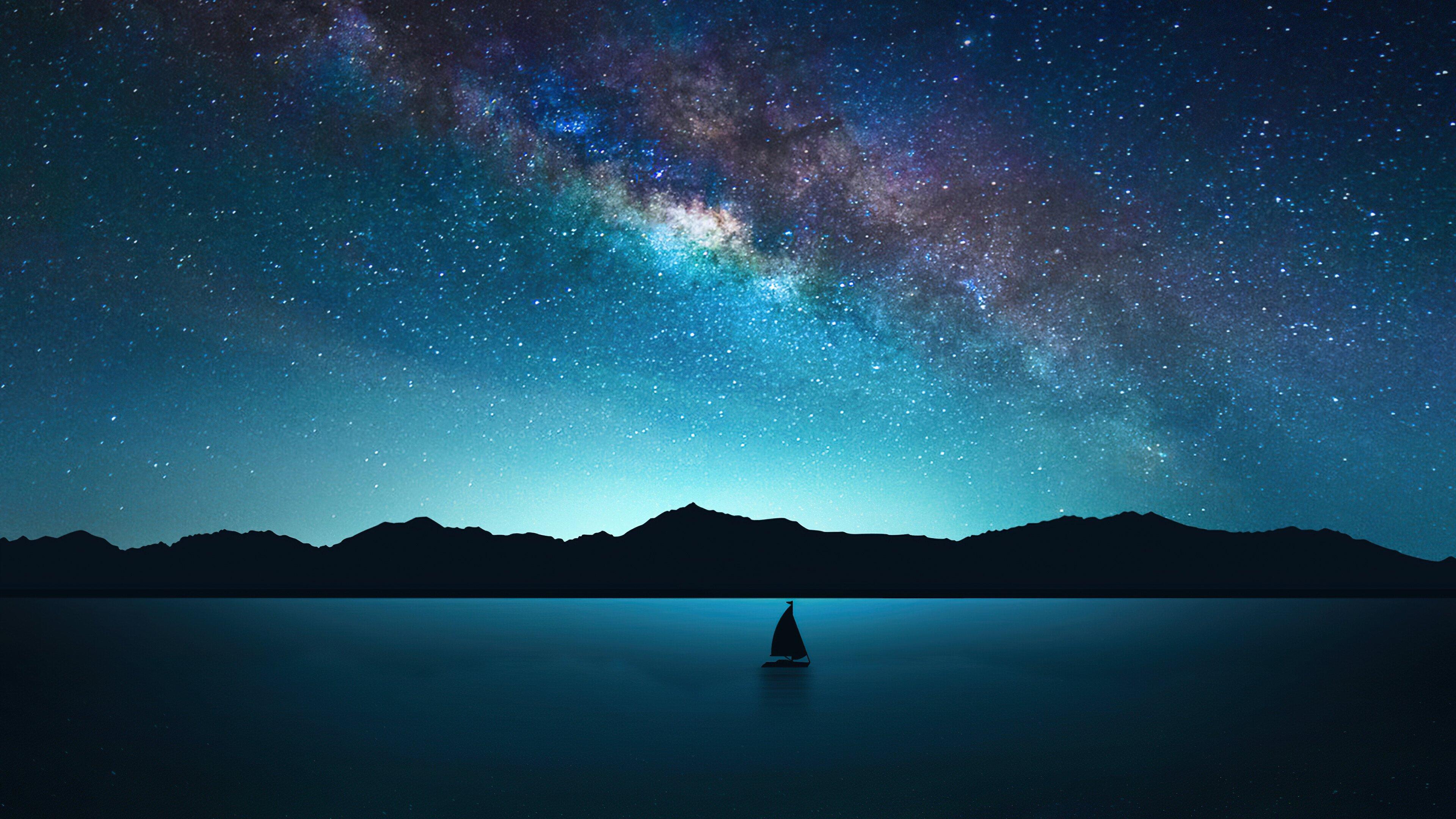 Fondos de pantalla Noche con estrellas