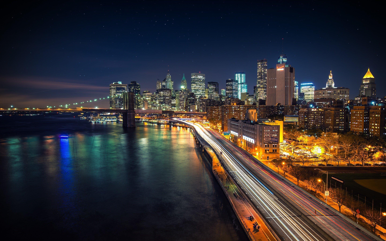 Wallpaper Night in Manhattan