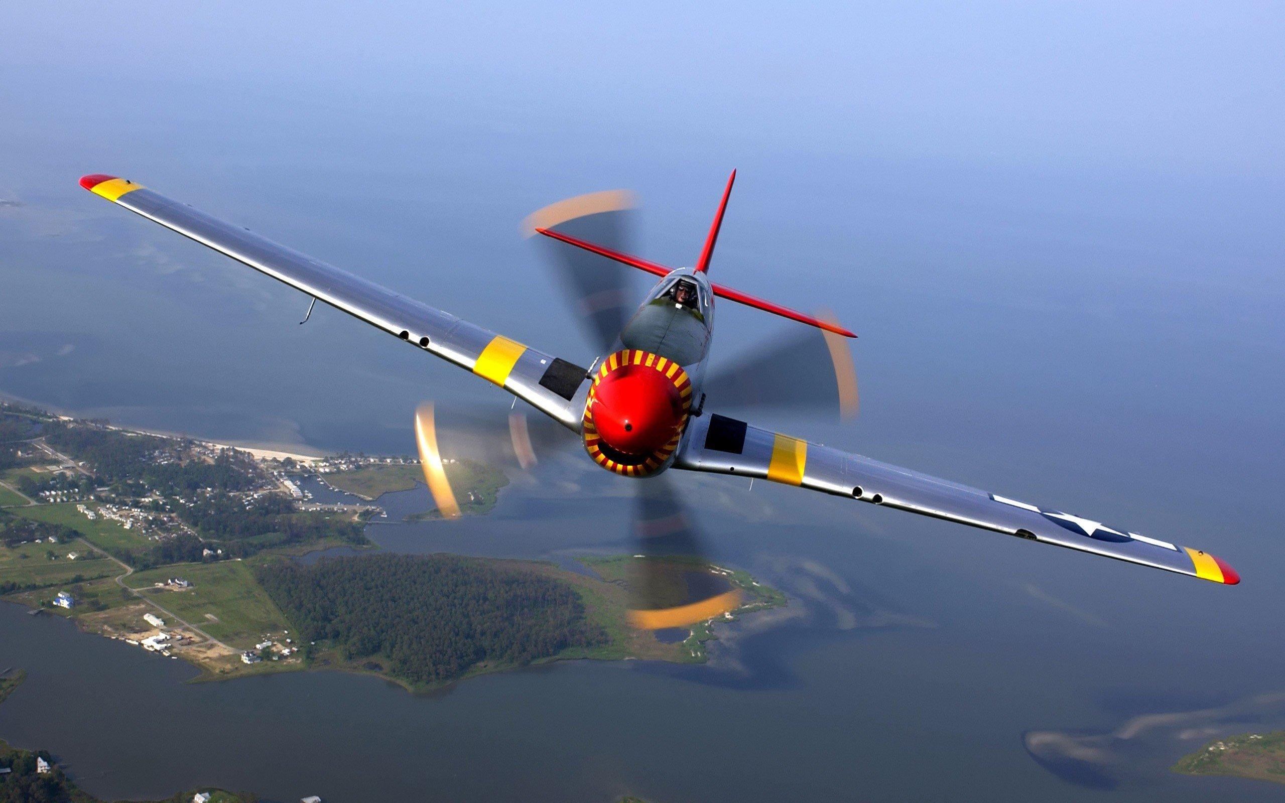 Wallpaper North american P 51 Mustang Aircraft