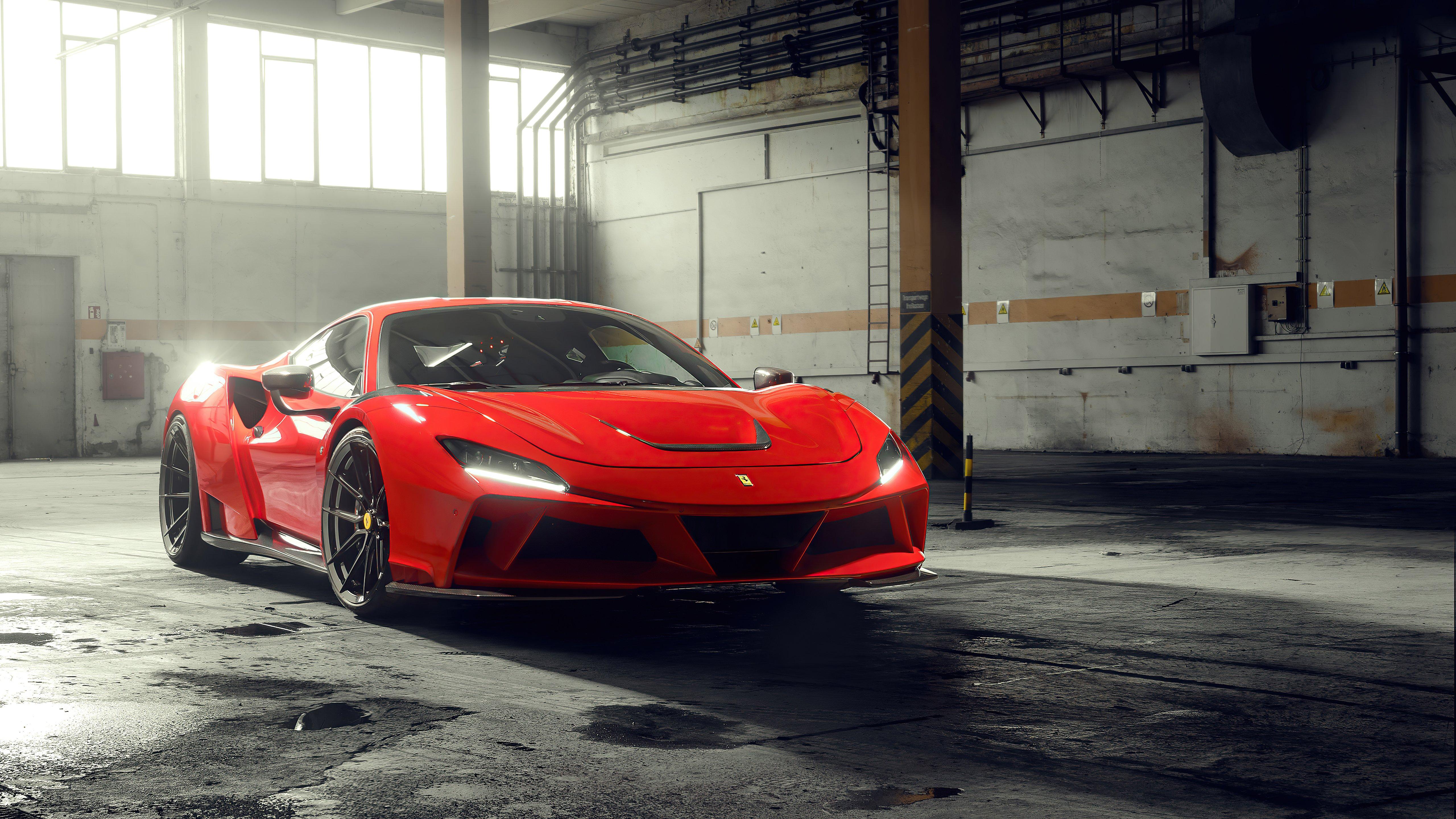 Wallpaper Novitec Ferrari F8 Tributo